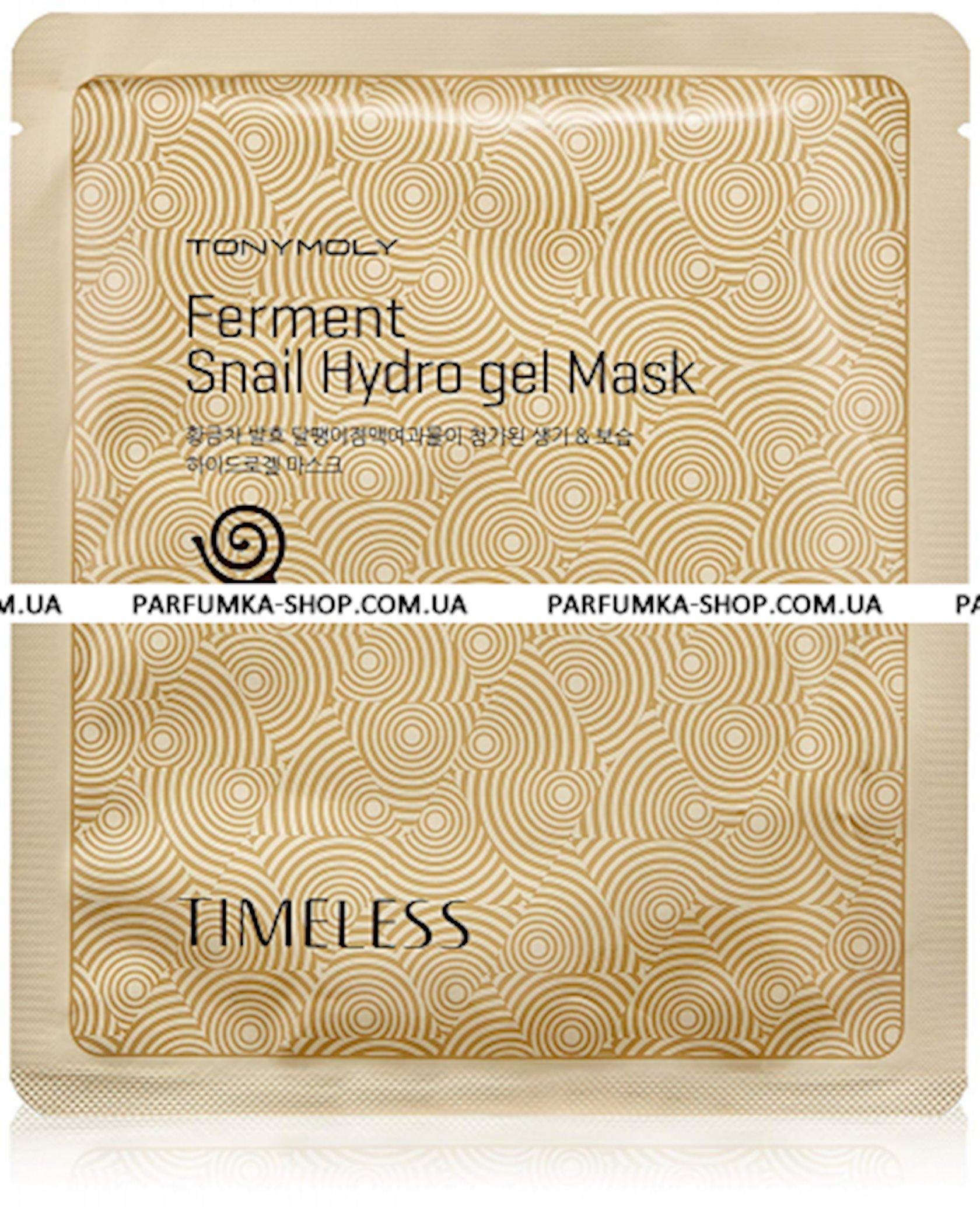 Parça maska Tony Moly Timeless Ferment Snail Hydro Gel Mask