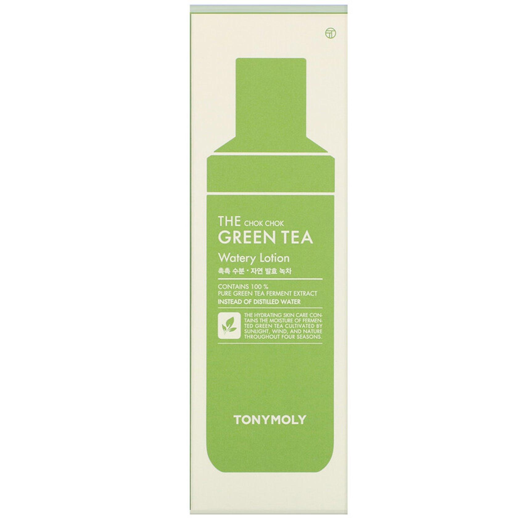 Üz üçün losyon Tony Moly The Chok Chok Green Tea Watery Lotion