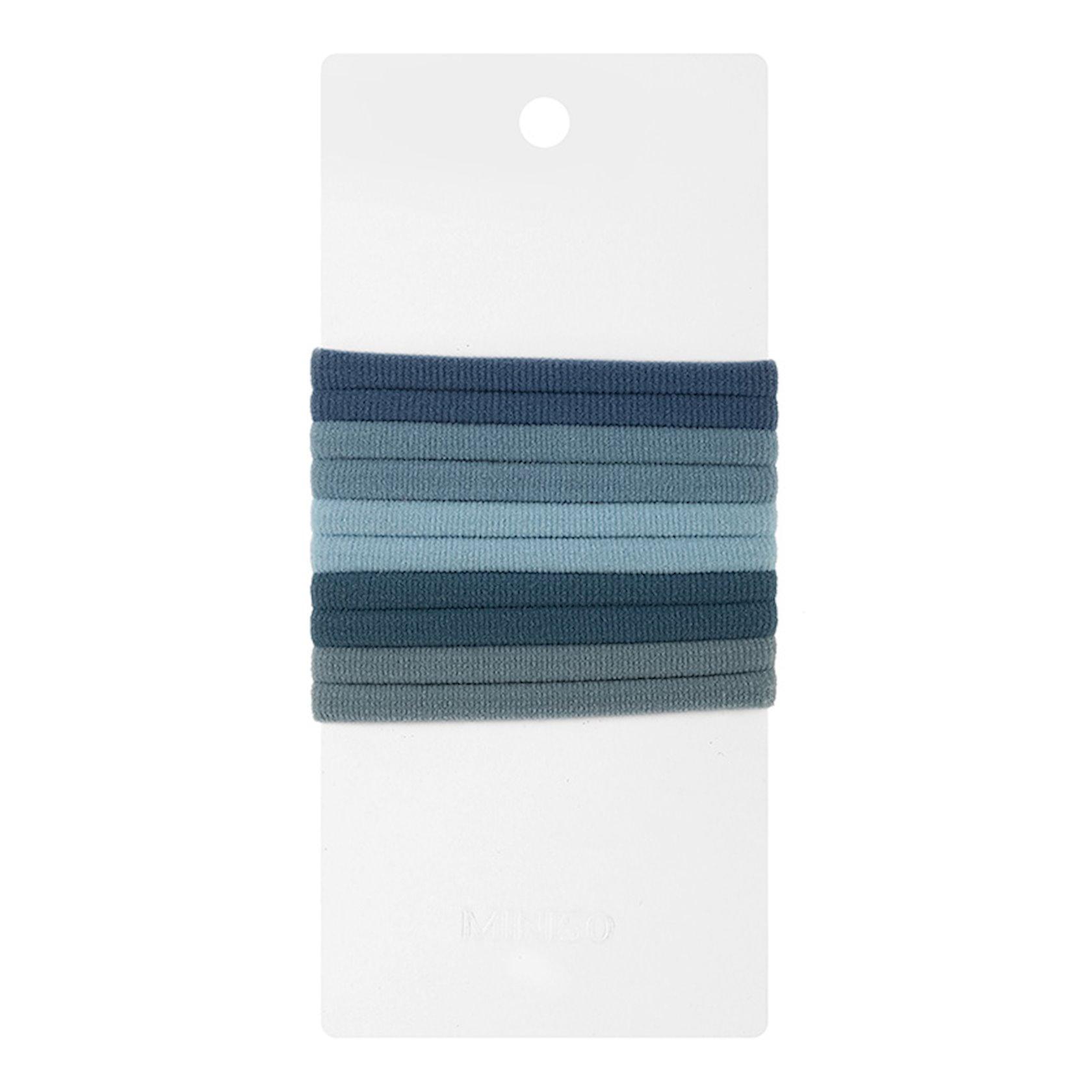 Saç üçün rezin bağ Miniso 3.5CM Towel Hair Ring 10 Pcs