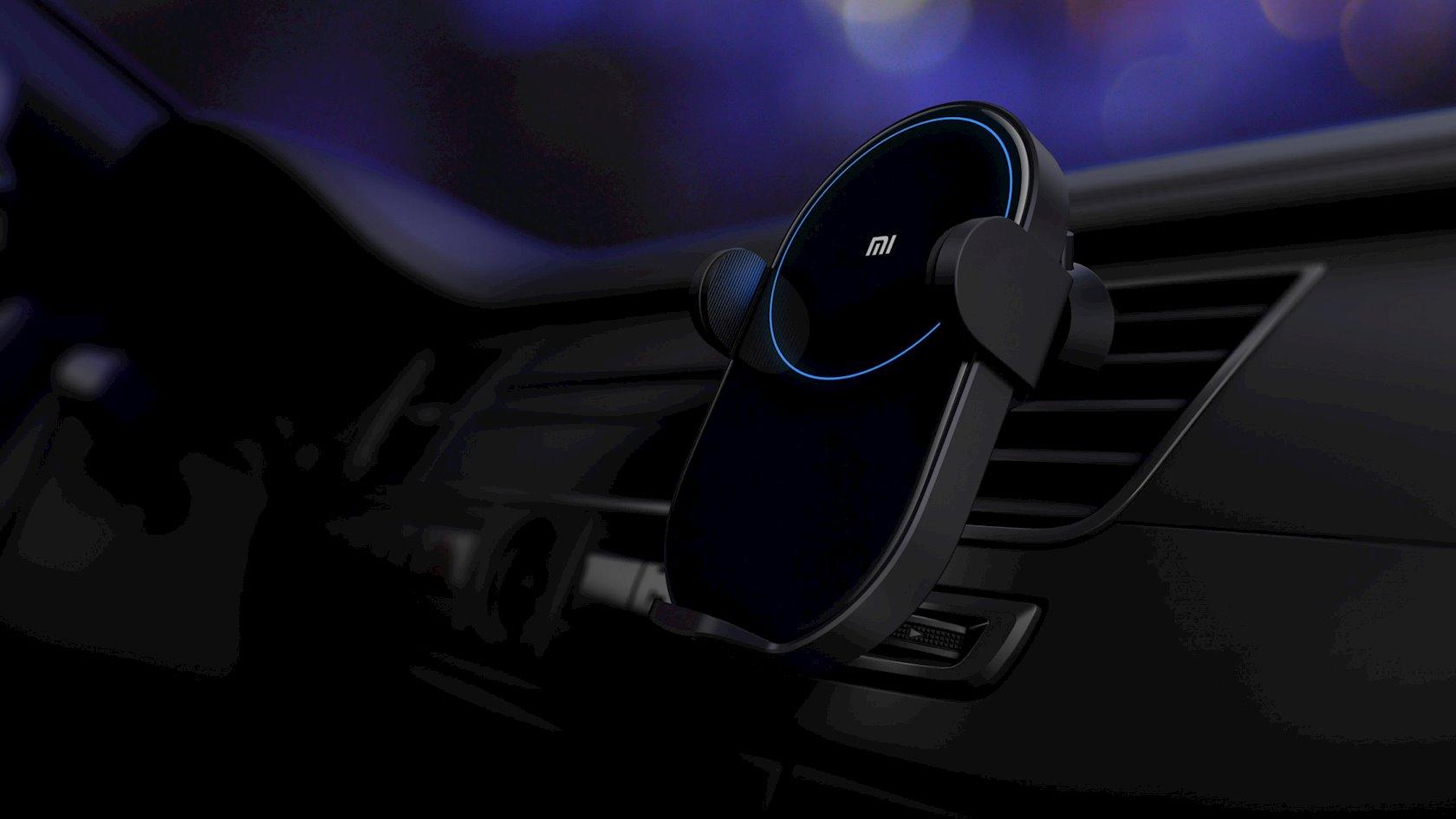 Simsiz enerji cihazı Xiaomi Wireless Car Charger WCJ02ZM qara