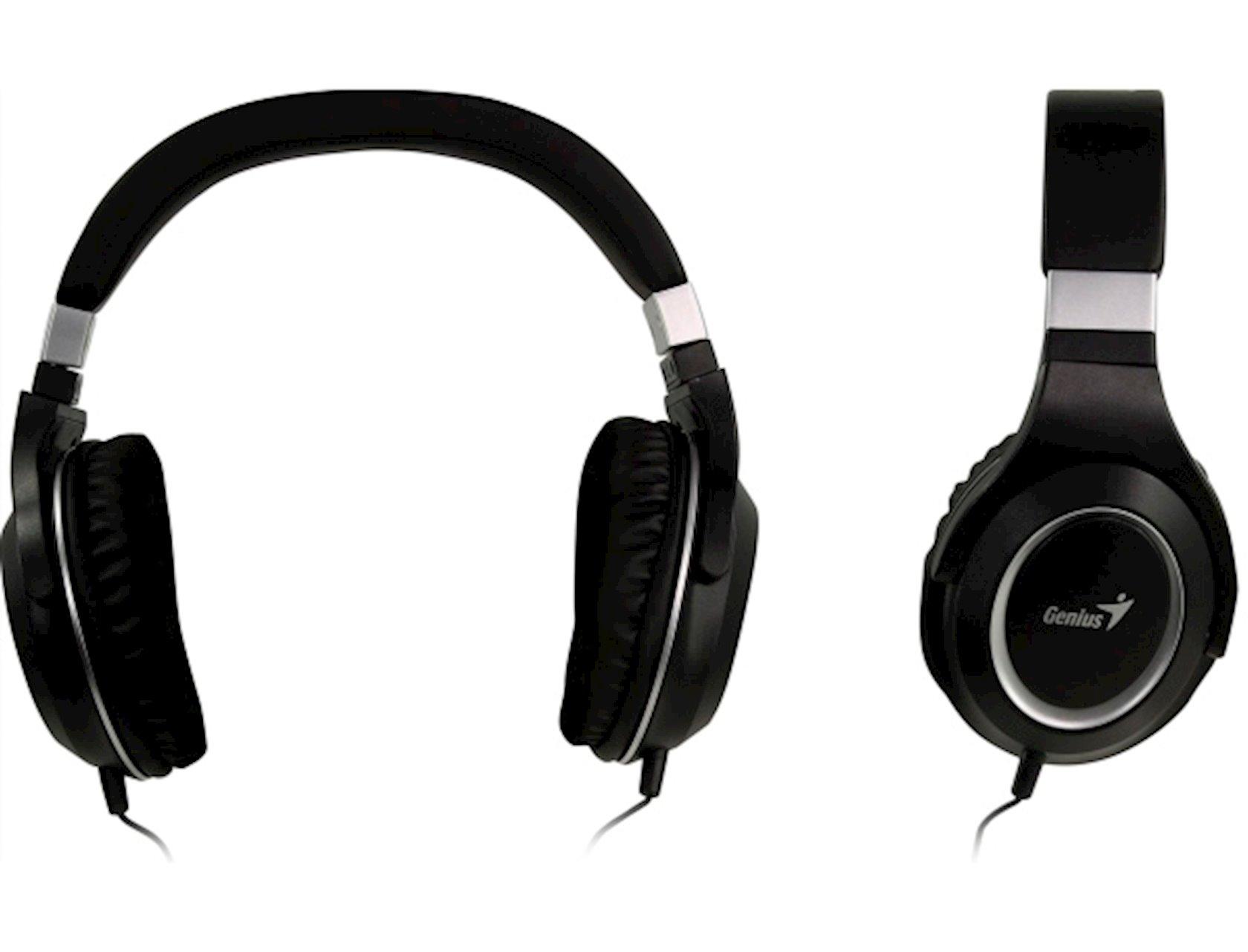 Qulaqlıq-qarnitur Genius HS-610 Black