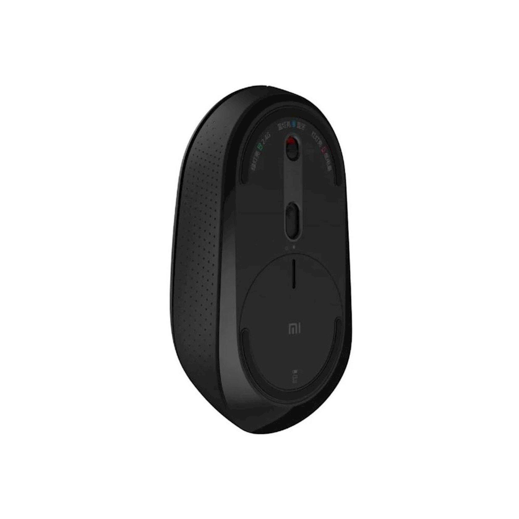 Simsiz siçan Xiaomi Mi Dual Mode Wireless Mouse Silent Edition (WXSMSBMW02), qara