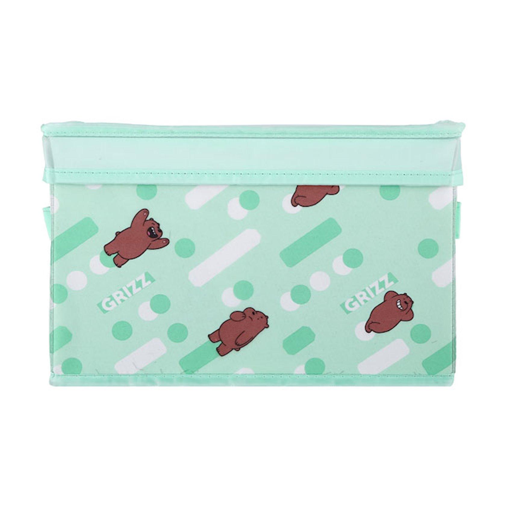 Qatlanan təşkilatçı Miniso We Bare Bears Organizer Box with Lid-Small (Grizzly)
