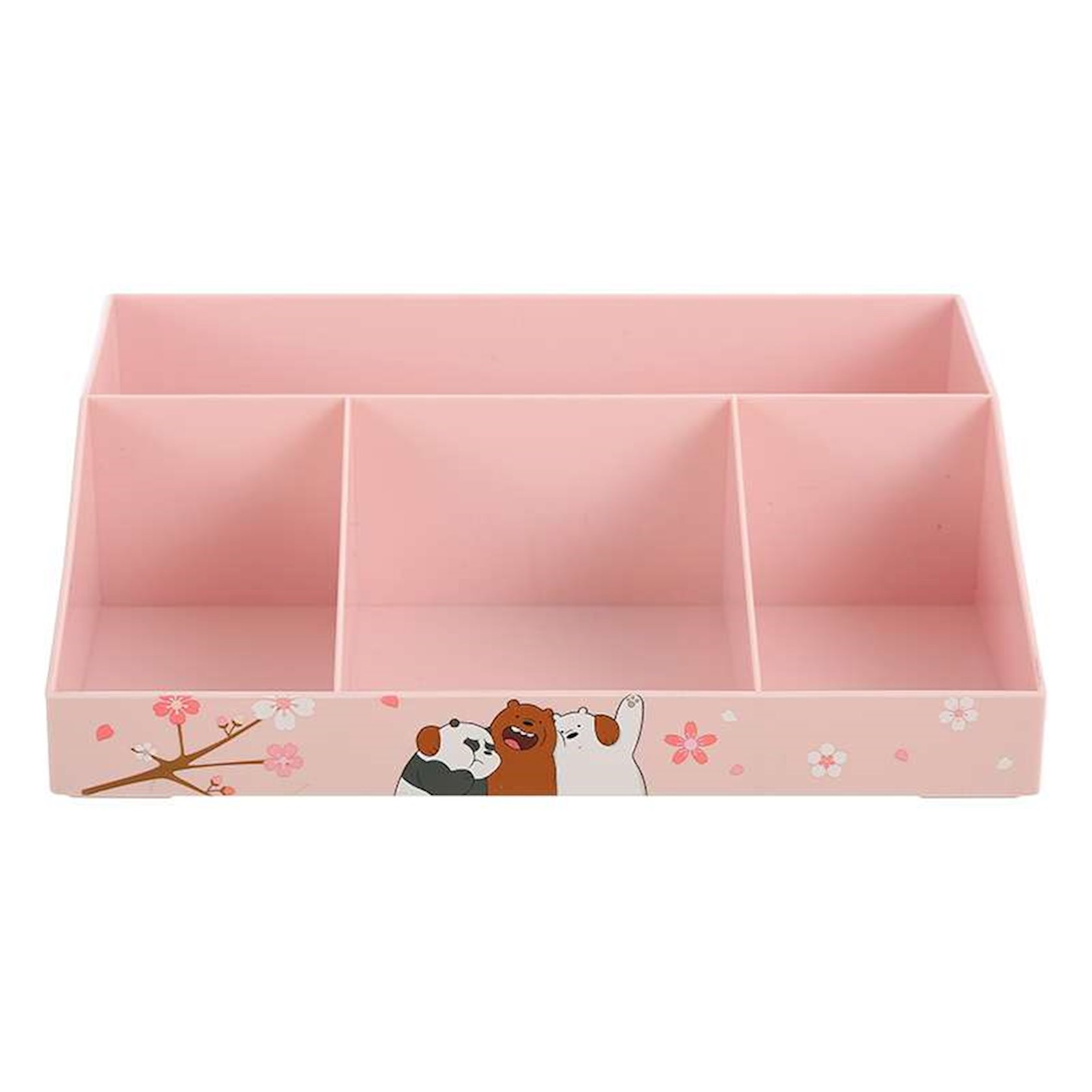 Saxlama qutusu Miniso We Bare Bears Multifunctional Storage Box