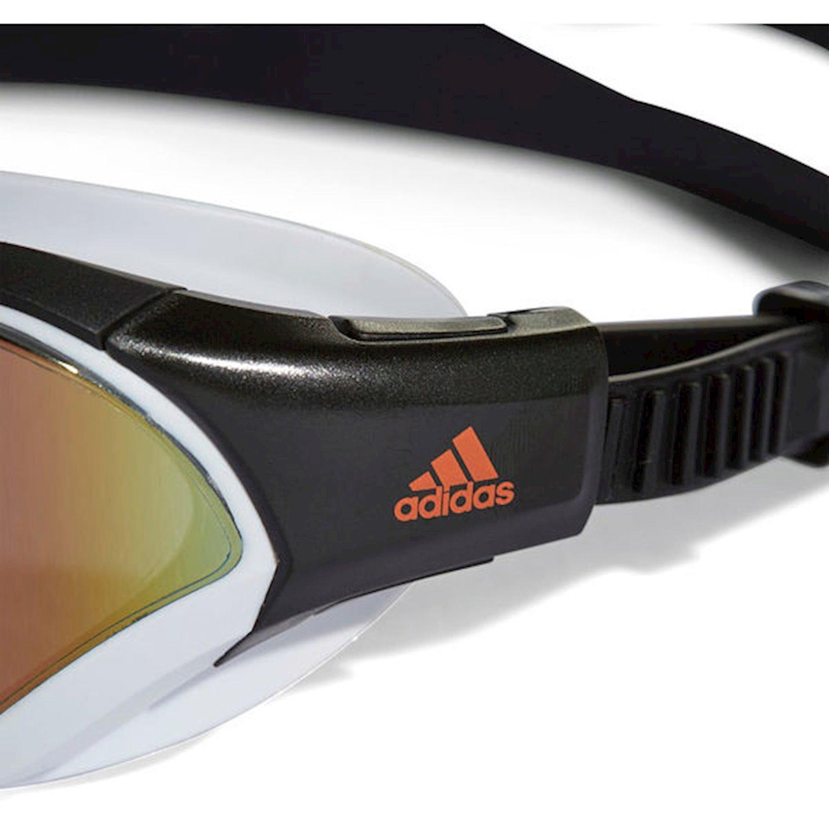Üzgüçülük üçün eynək Adidas Persistar 180 Mirrored, uniseks, qara