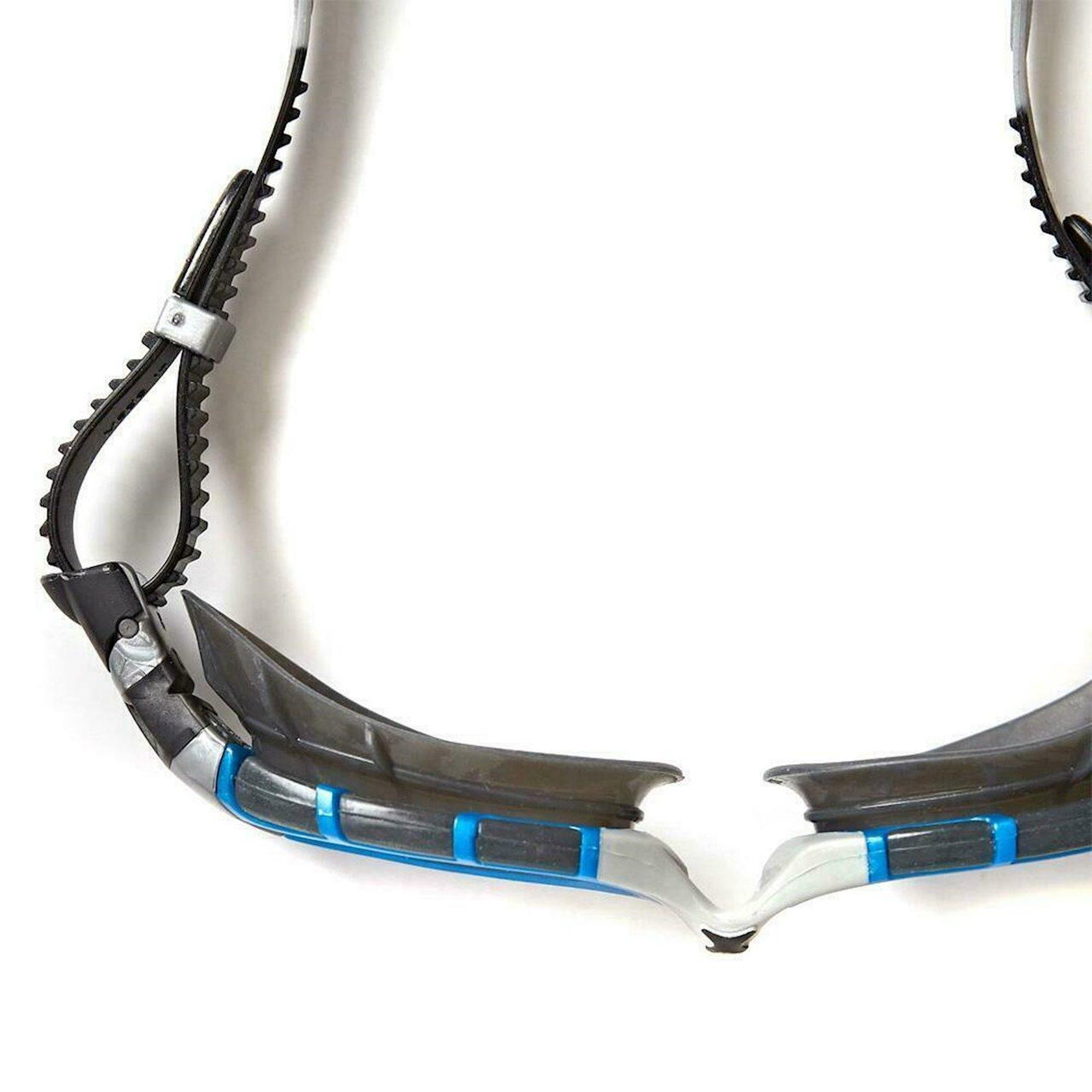 Üzgüçülük üçün eynək Zoggs Predator Flex Polarized Ultra Reactor In Small Swim Goggles FINA Approved, uniseks, qara/göy/gümüşü