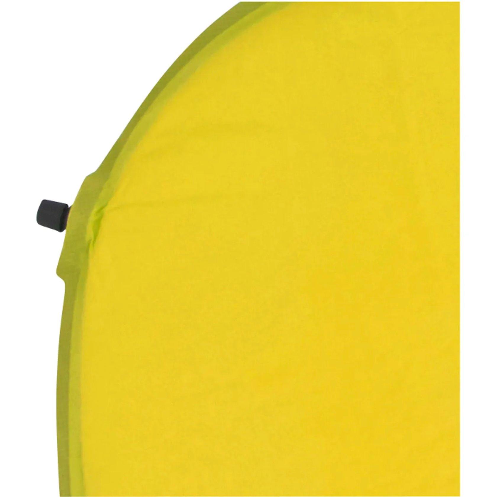 ÖzüŞişirdilən döşək WANABEE ATG LIGHT 120, PVX/poliester, sarı, 120sm х 2.5sm х 55 sm, çexol dəstdə