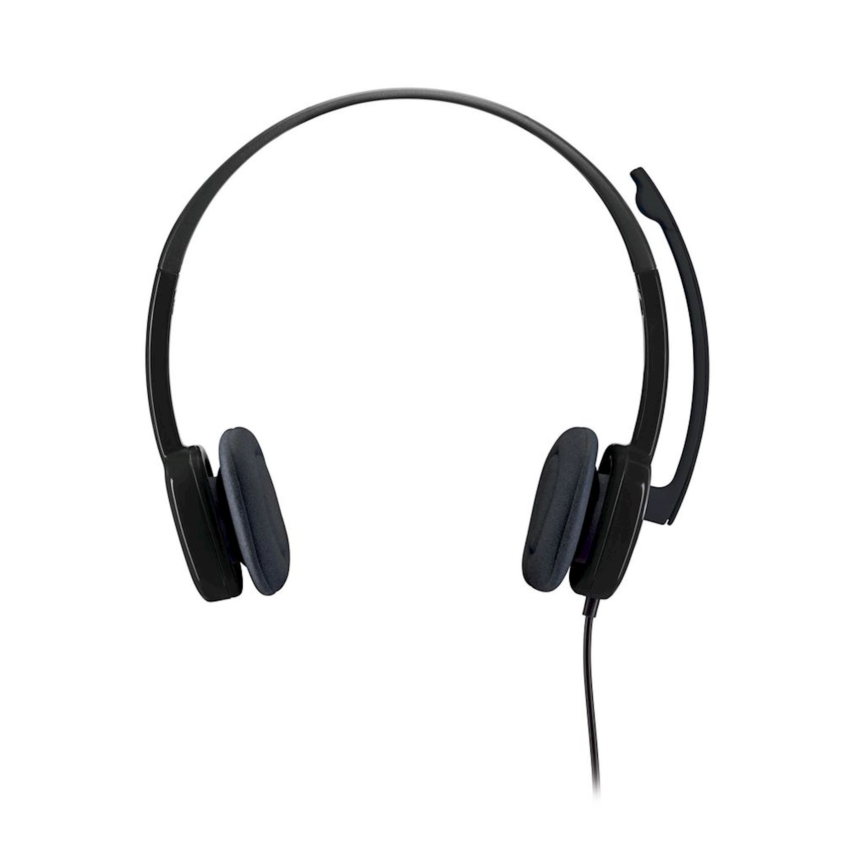 Qulaqlıq-qarnitur Logitech Stereo Headset H151 981-000589 Black
