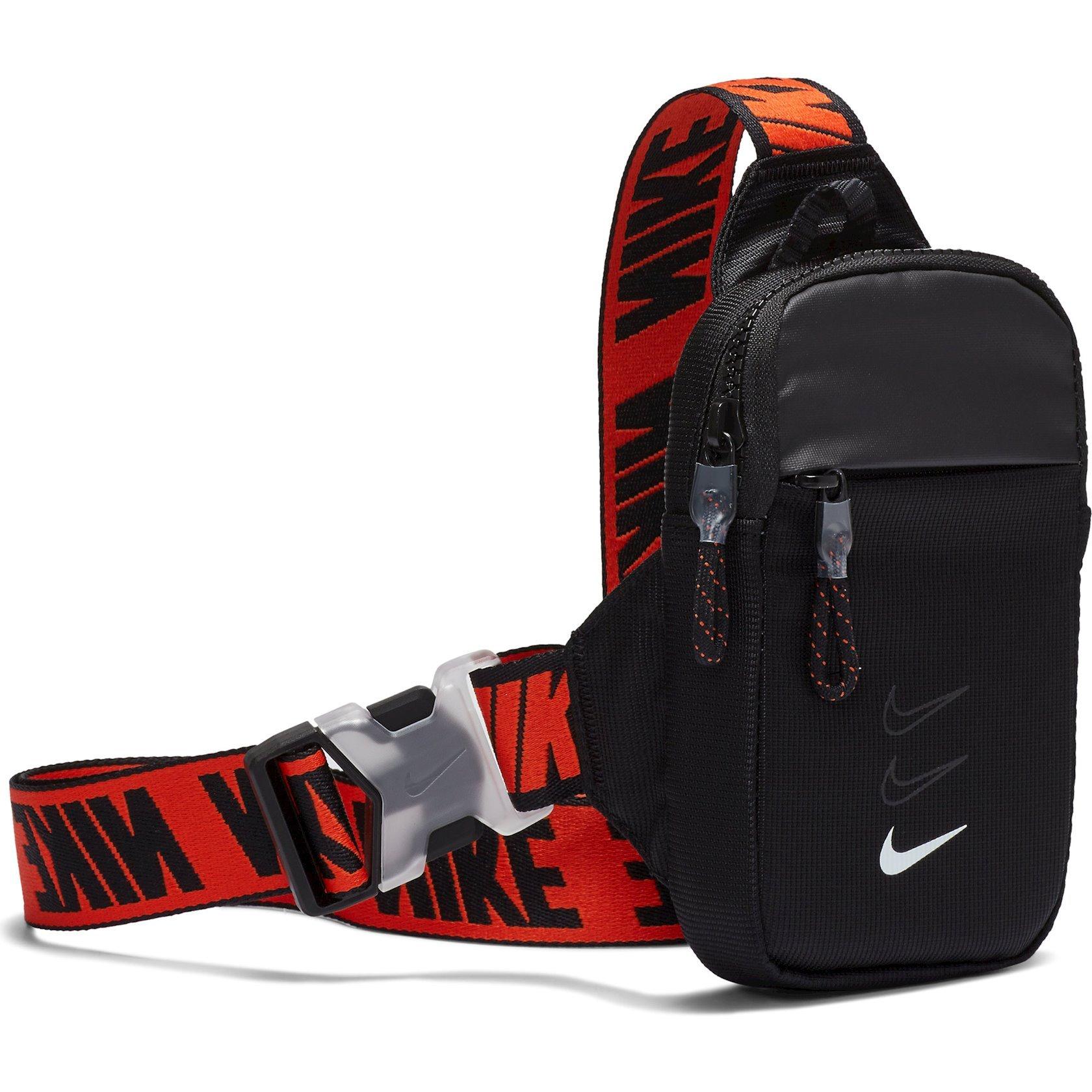 Kəmər çantası Nike Nk Sprtswr Essentials S Hip P BA5904-010, Uniseks, Neylon+Polyester, Qara, 18sm x 10sm x 5sm