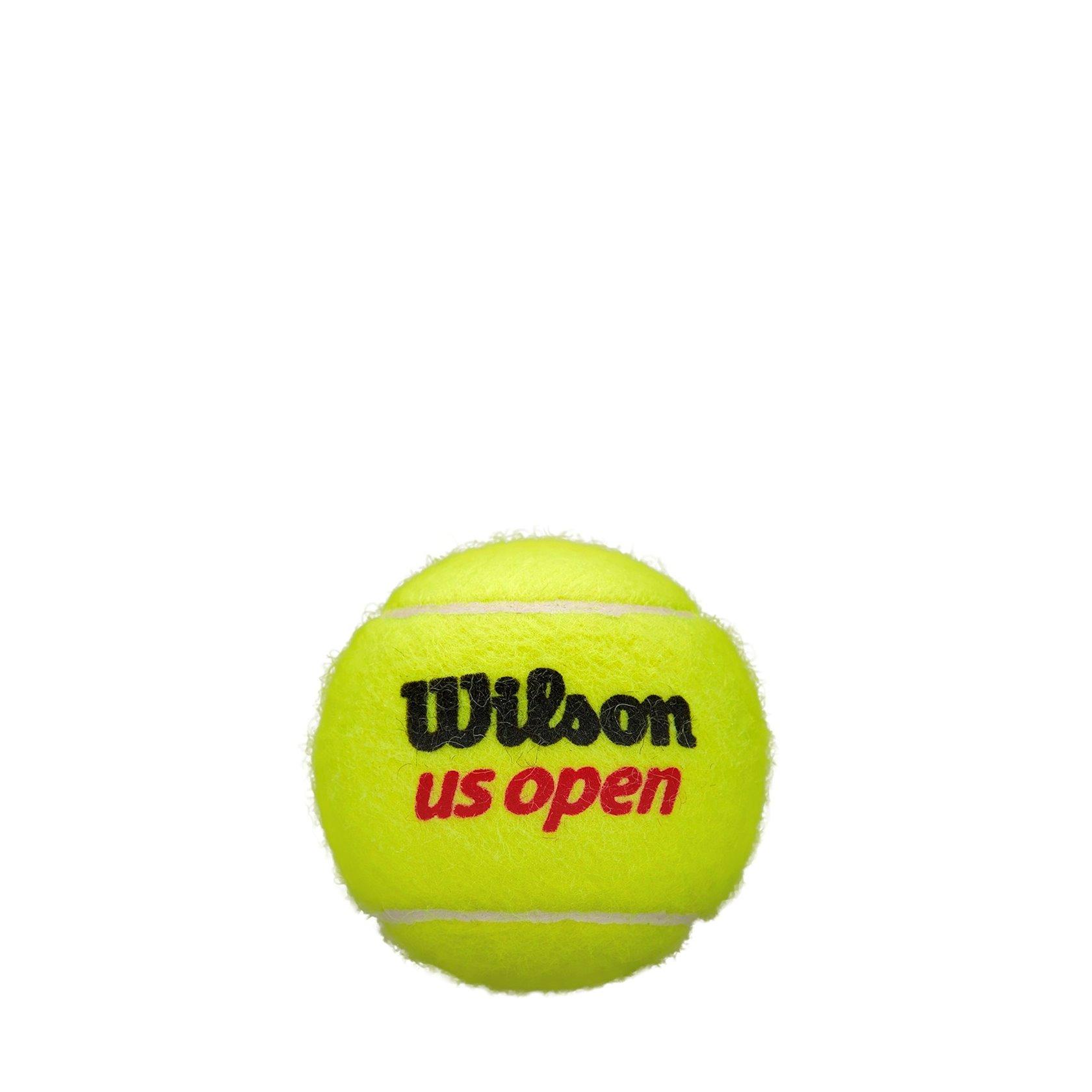 """Böyük tennis üçün top dəsti Wilson 1196303 """"US Open"""", 4 əd, sarı"""