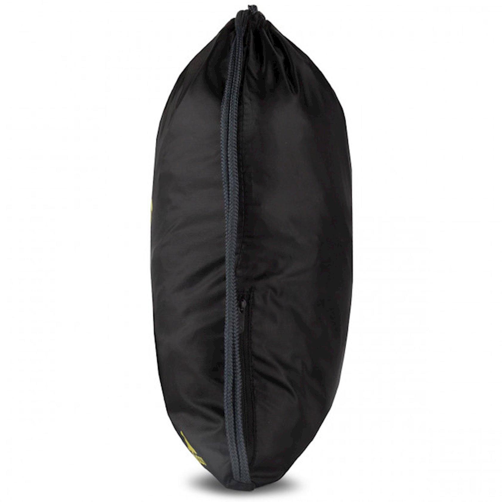 Ayaqqabılar üçün torba ADIDAS MAN UTD DY7689 GYMSACK, Uniseks, Polyester, Qara