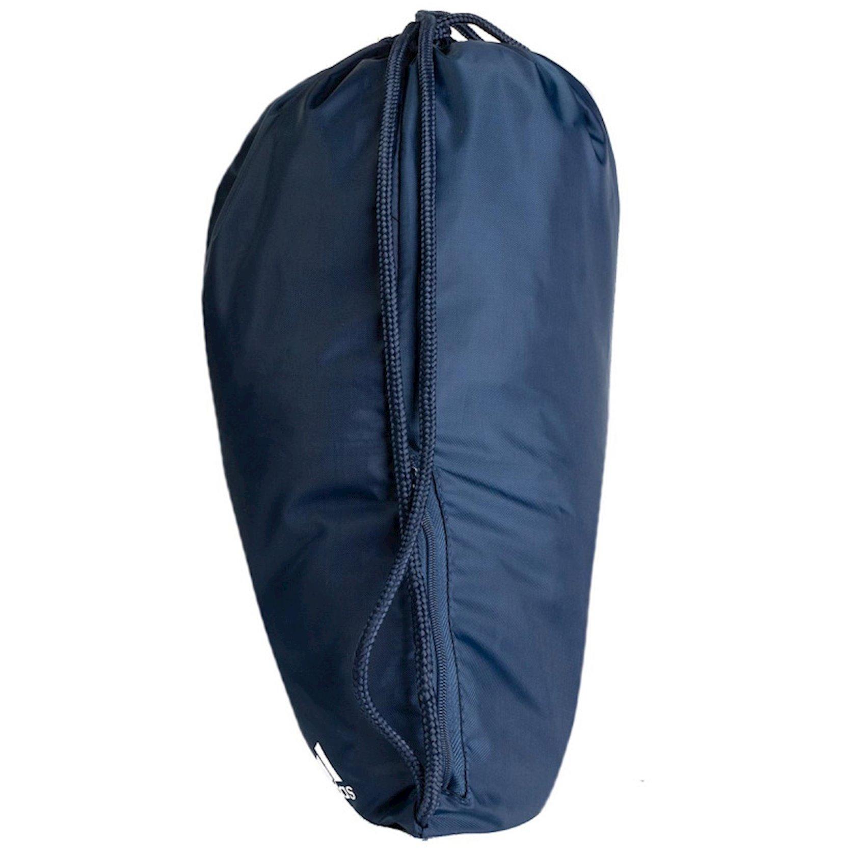Ayaqqabılar üçün torba ADIDAS FC BAYERN MUNICH DY7526 GYMSACK, Uniseks, Polyester, Tünd göy