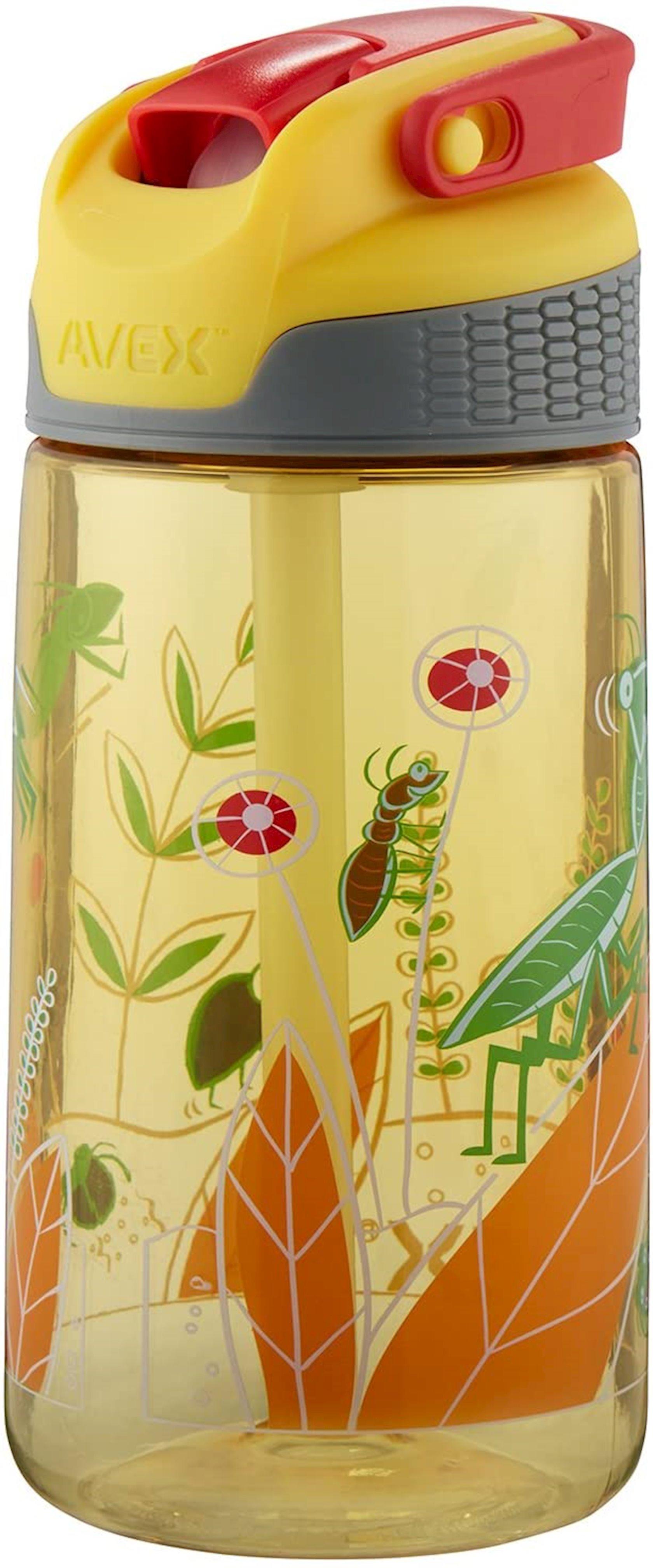 Butulka Avex Kids Freestyle Bugs Autospout Water Bottle, 473 ml, Sarı