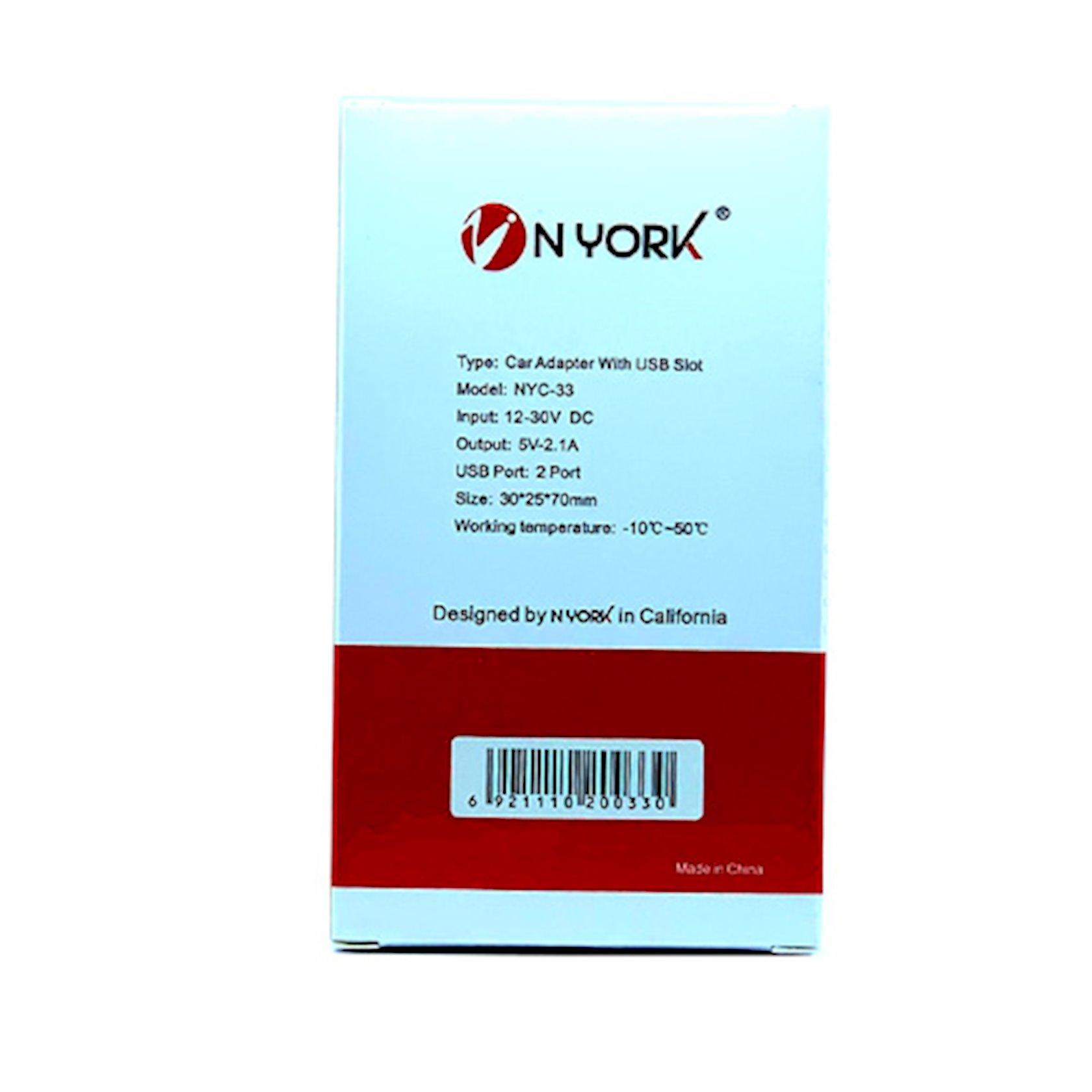 Enerji toplama cihazı avtomobil üçün  Nyork NYC-33 iPhone