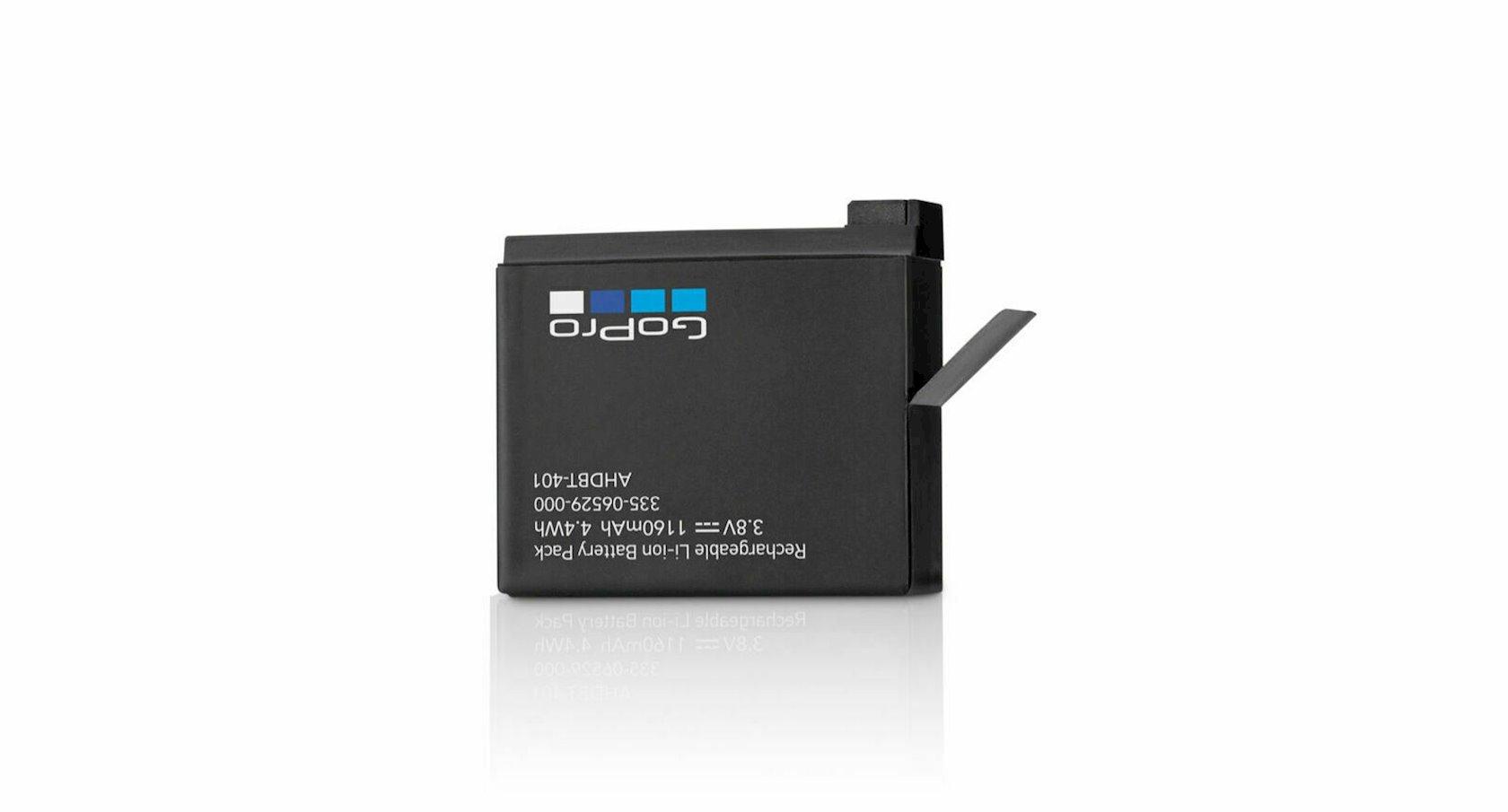 Akkumulyator GoPro Rechargable Battery Hero 4 üçün,Qara