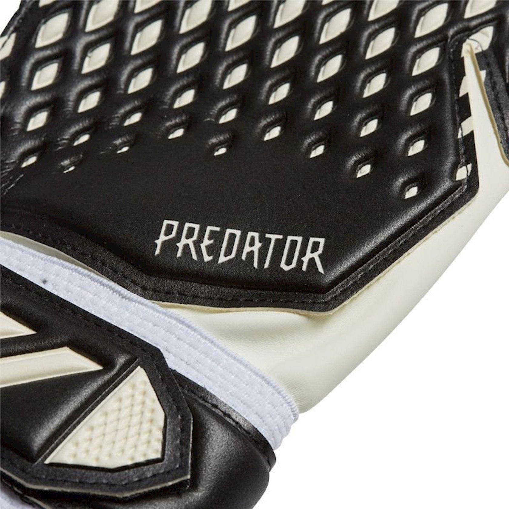 Qapıçı əlcəkləri Adidas Predator Training FS0399, Uniseks, Qara/Ağ, Ölçü 9.5