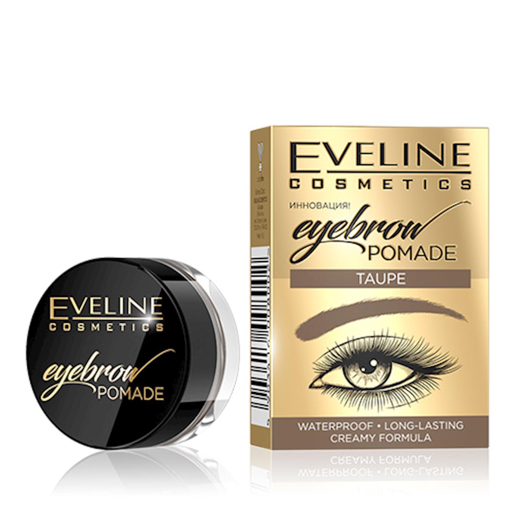 Pomada qaşlar üçün Eveline Eyebrow Pomade Taupe 4 q