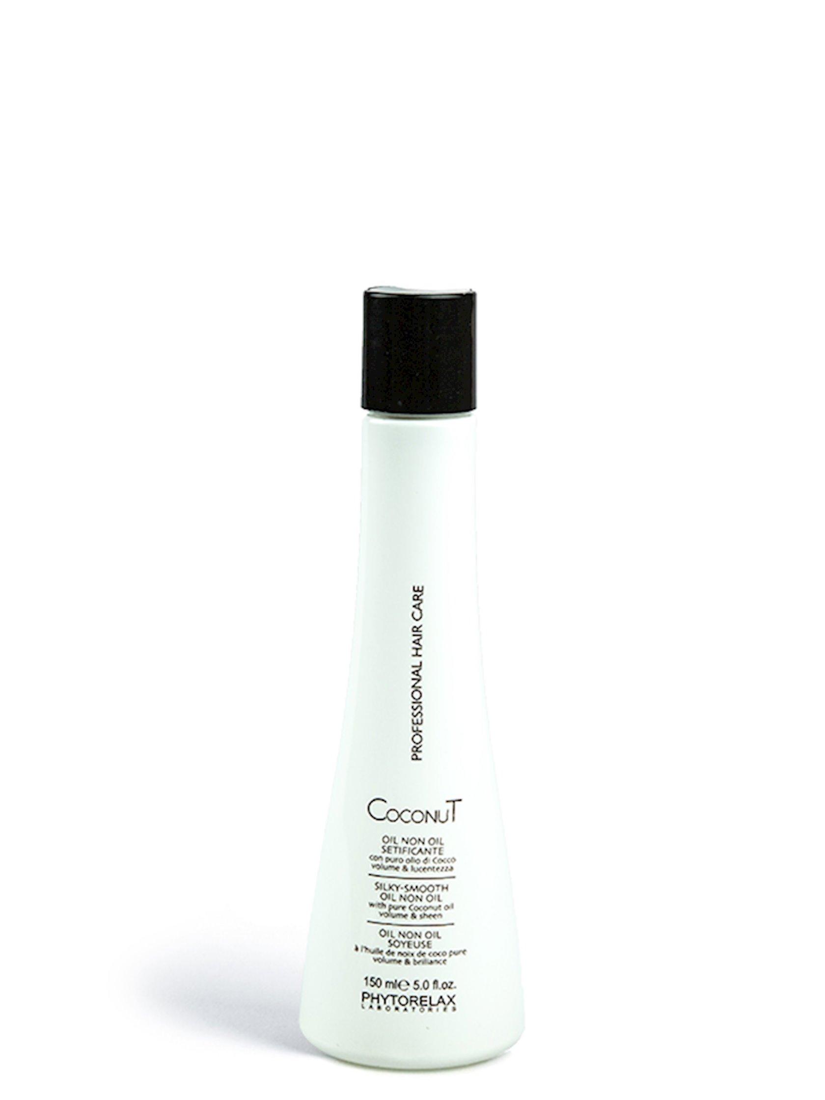 Saç yağı kokos yağı ilə Phytorelax Laboratories Coconut Professional Hair Care Silky-Smooth Oil Non Oil