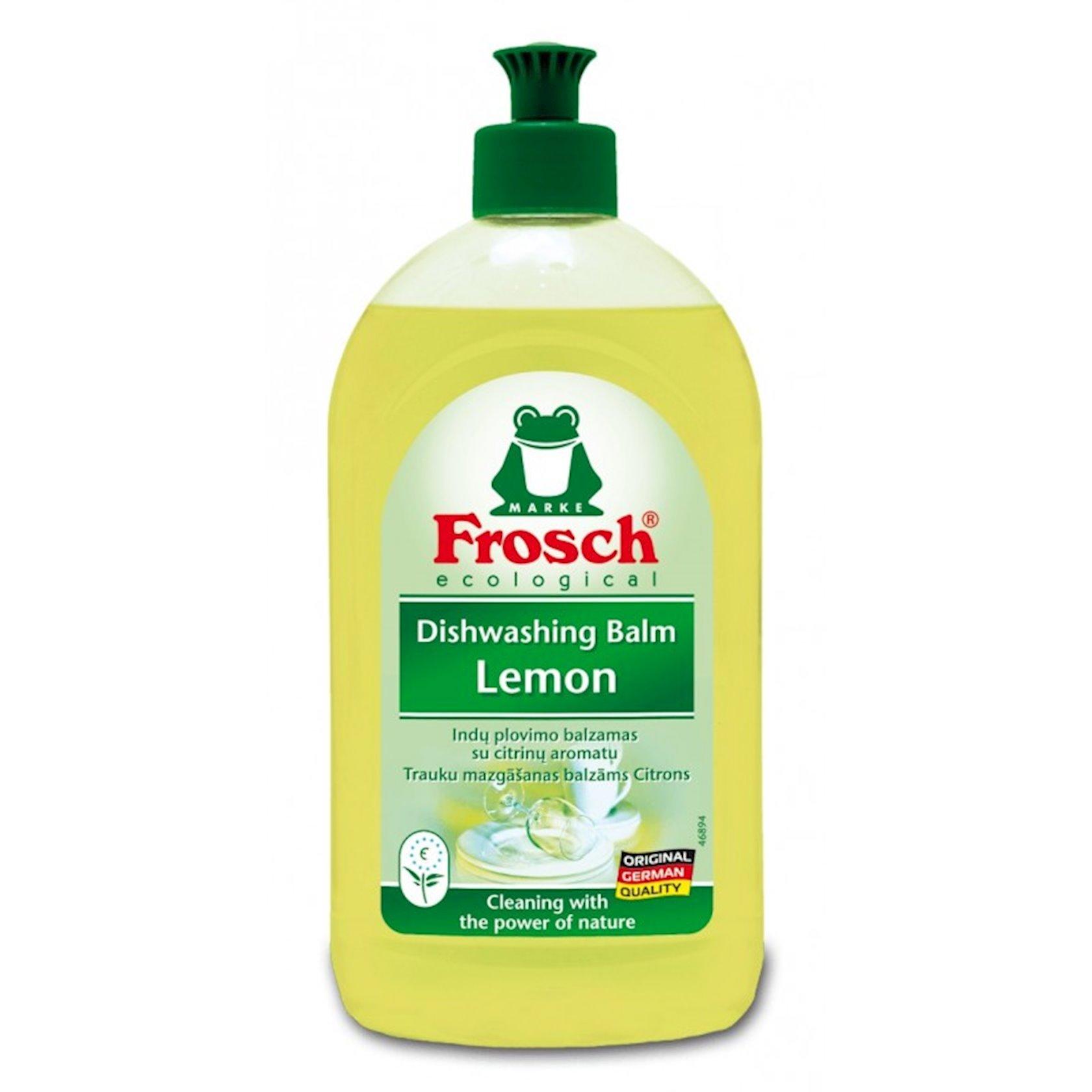 Təmizləyəci balzam-gel Frosch Limon 500 ml