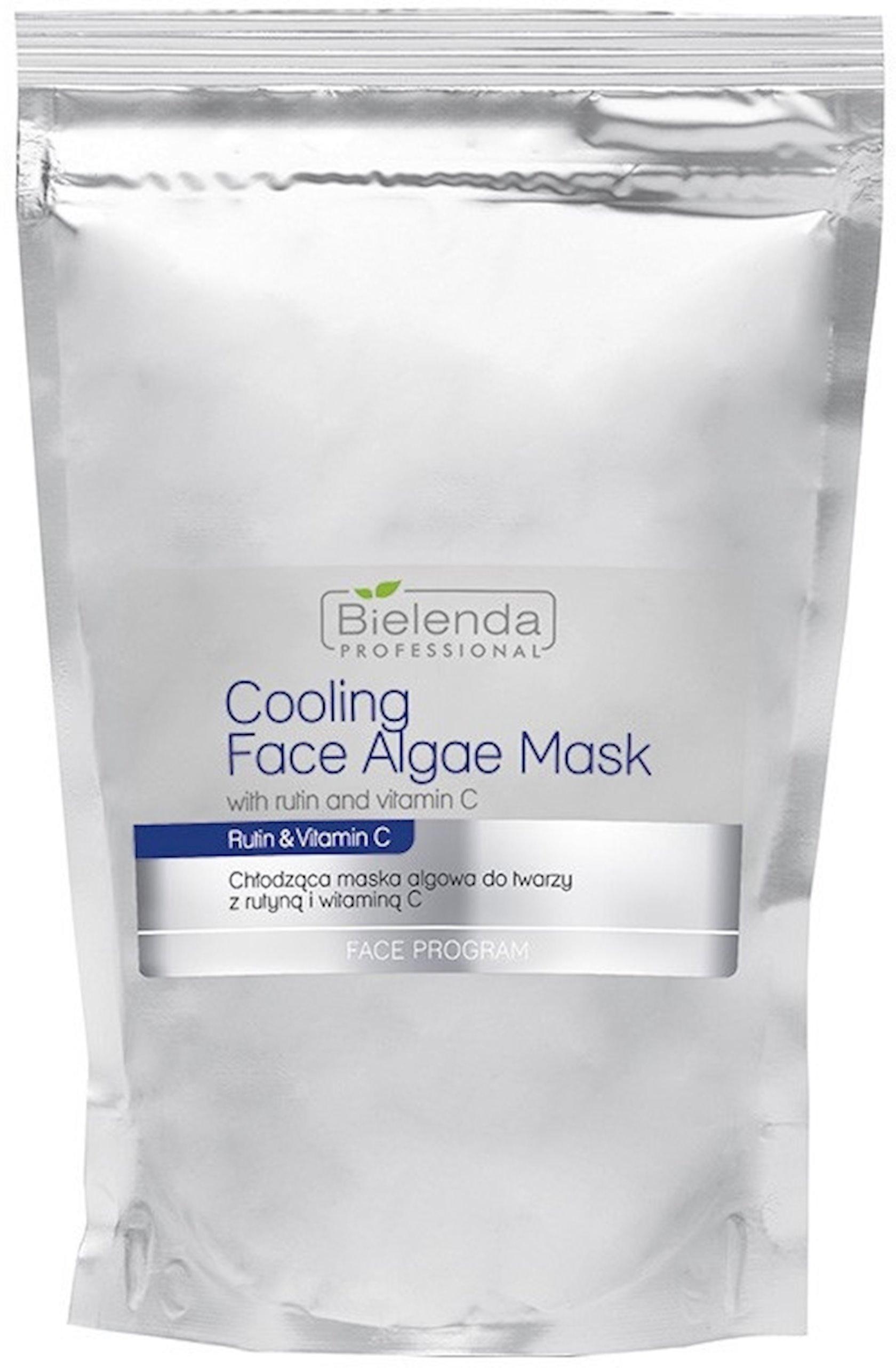 Üz üçün alqinat maska rutin və vitamin C ilə Bielenda Professional Cooling Face Algae mask with Rutin and Vitamin C