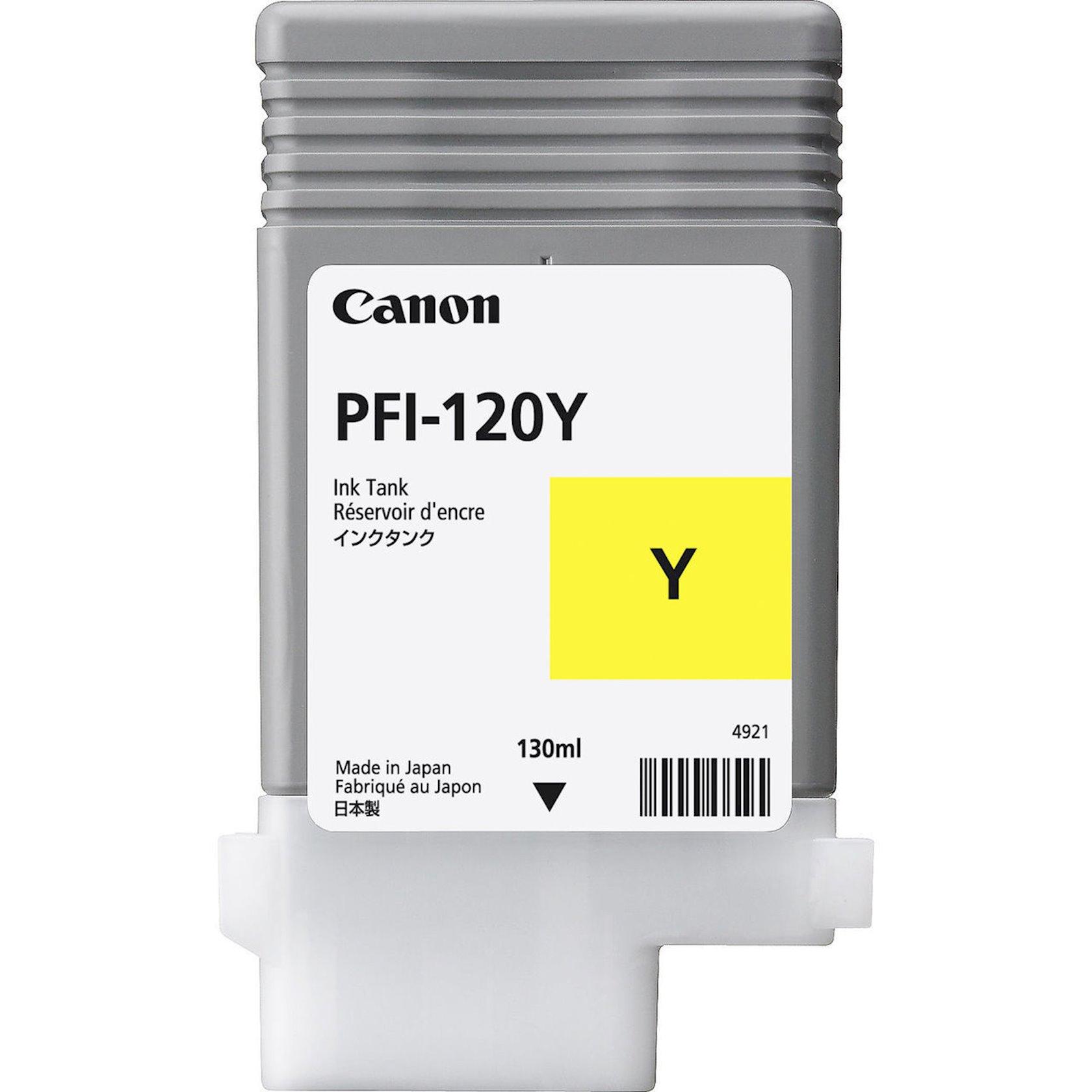 Mürəkkəb konteyneri Canon Ink Tank PFI-120 Yellow EMEA