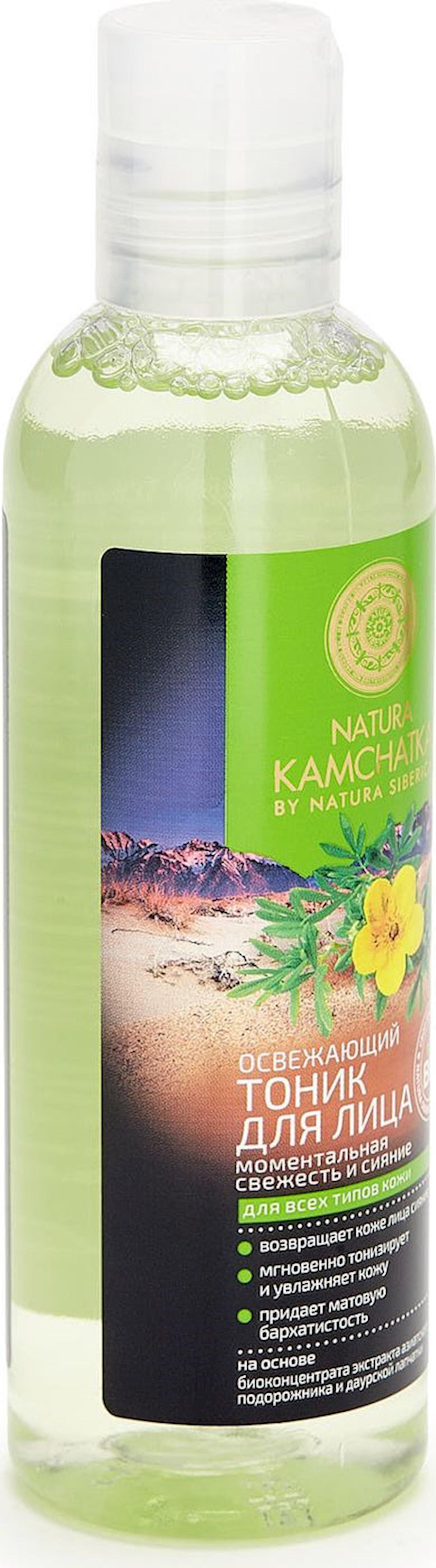 Tonik üz  üçün  Natura Siberica Kamchatka Təravətləndirici, 200 ml