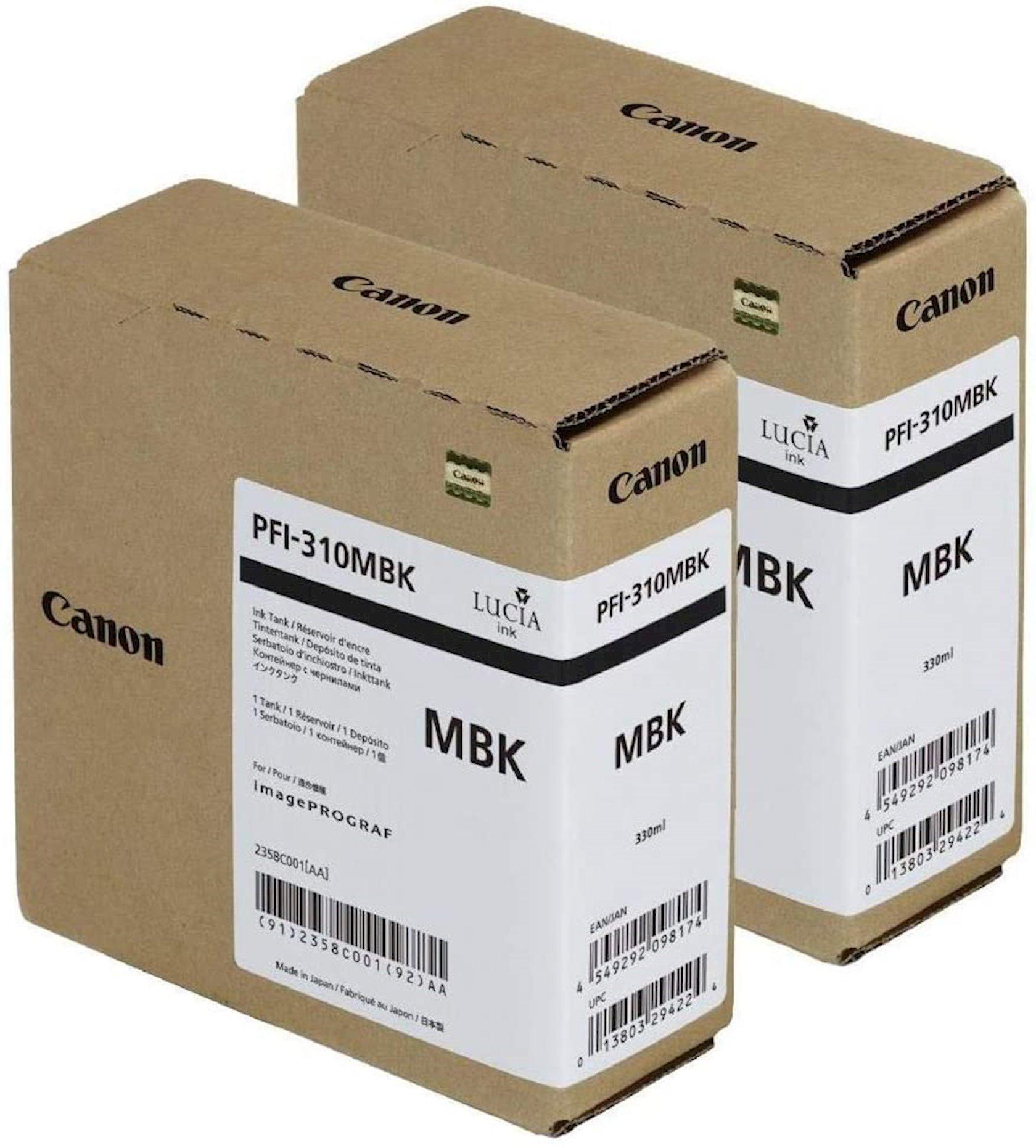 Mürəkkəb konteyneri Canon Pigment Ink Tank PFl-310 Matte Black