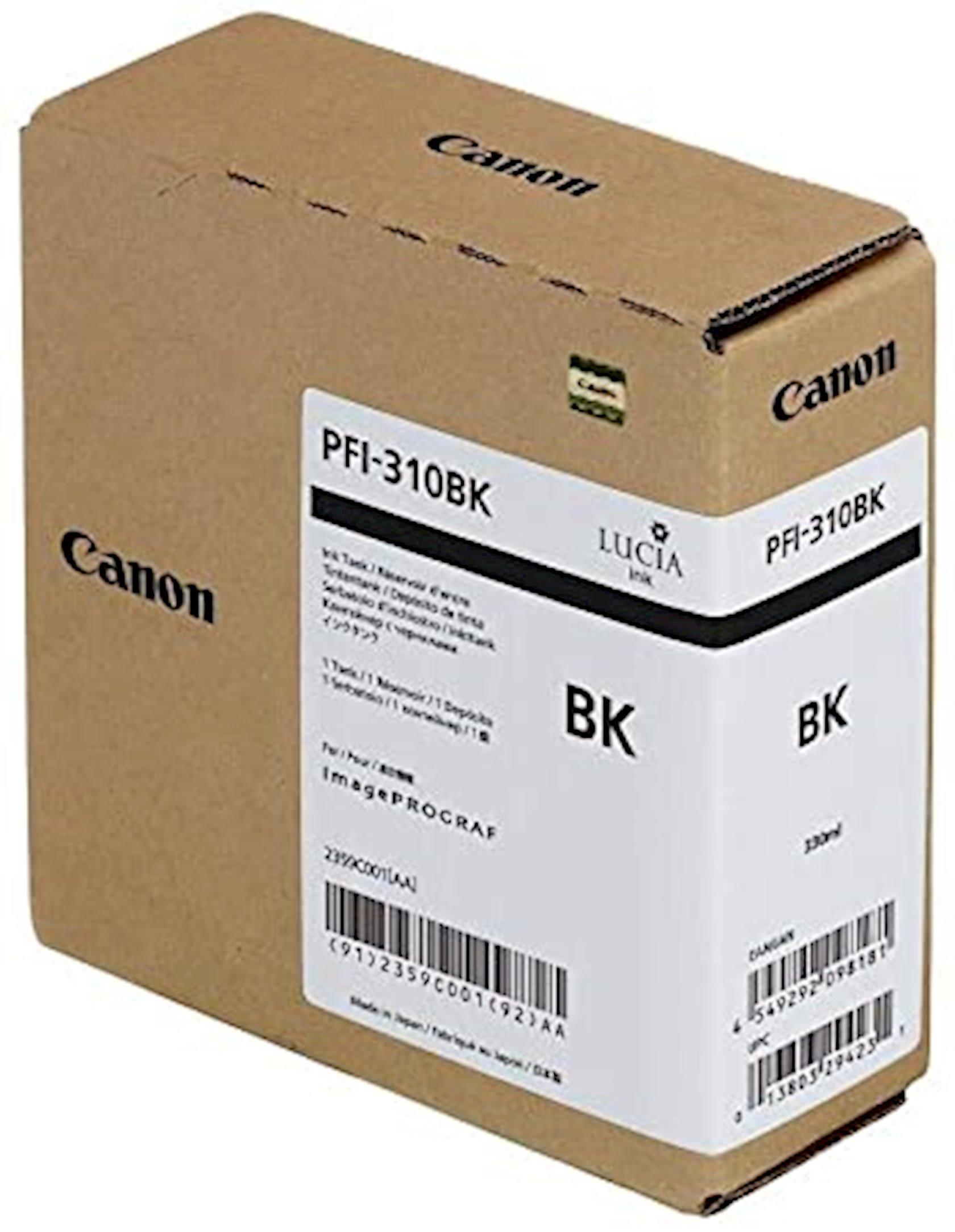 Mürəkkəb konteyneri Canon Pigment Ink Tank PFl-310 Photo Black