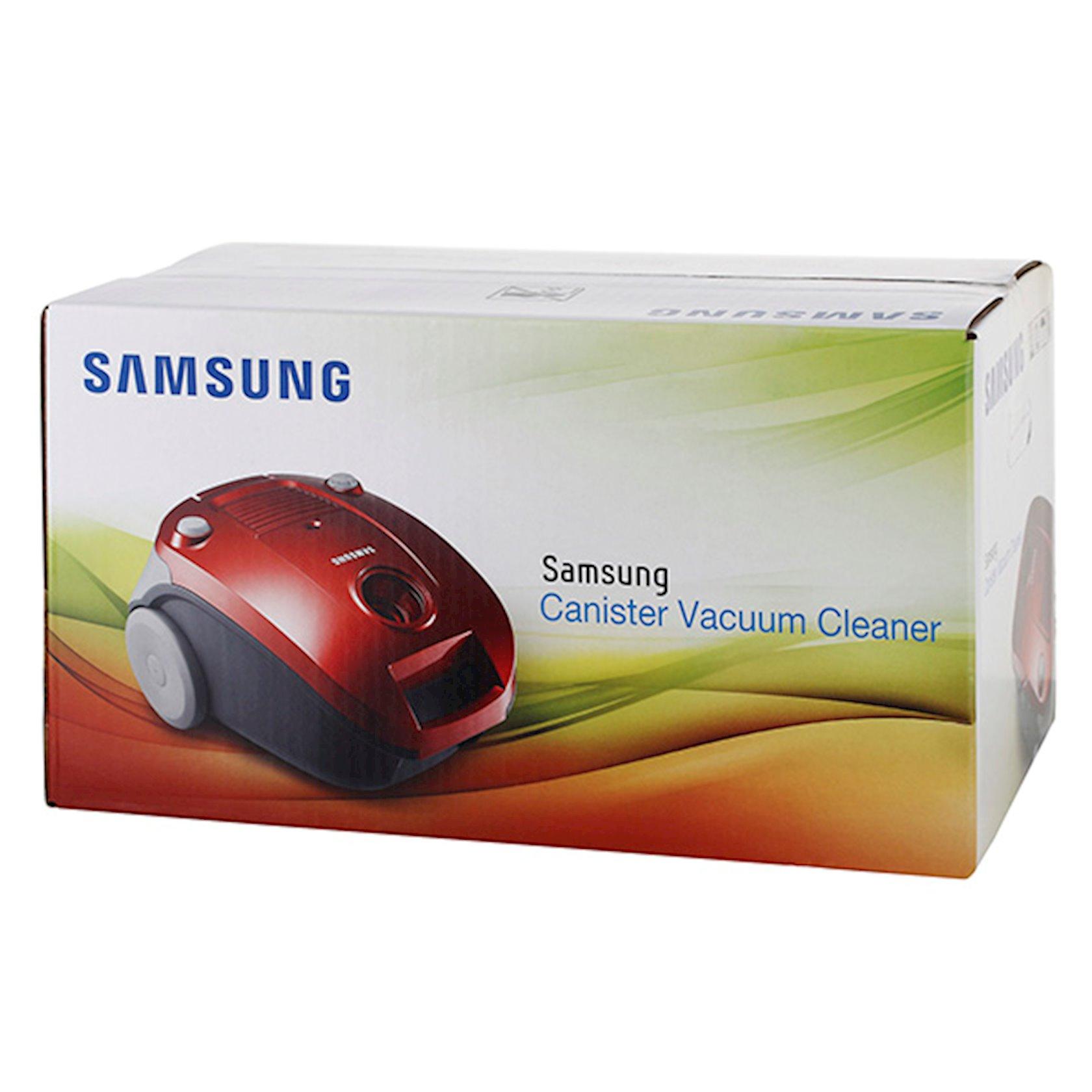 Пылесос Samsung SC-4181V37, красный