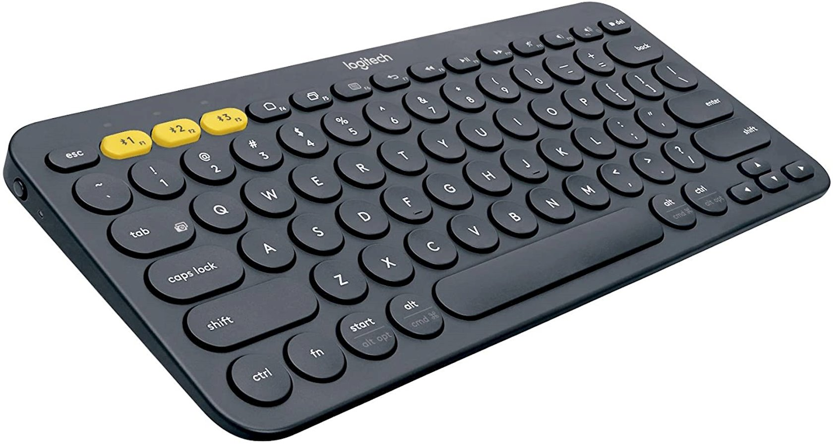 Simsiz klaviatura Logitech K380 Multi-Device Dark Grey Bluetooth