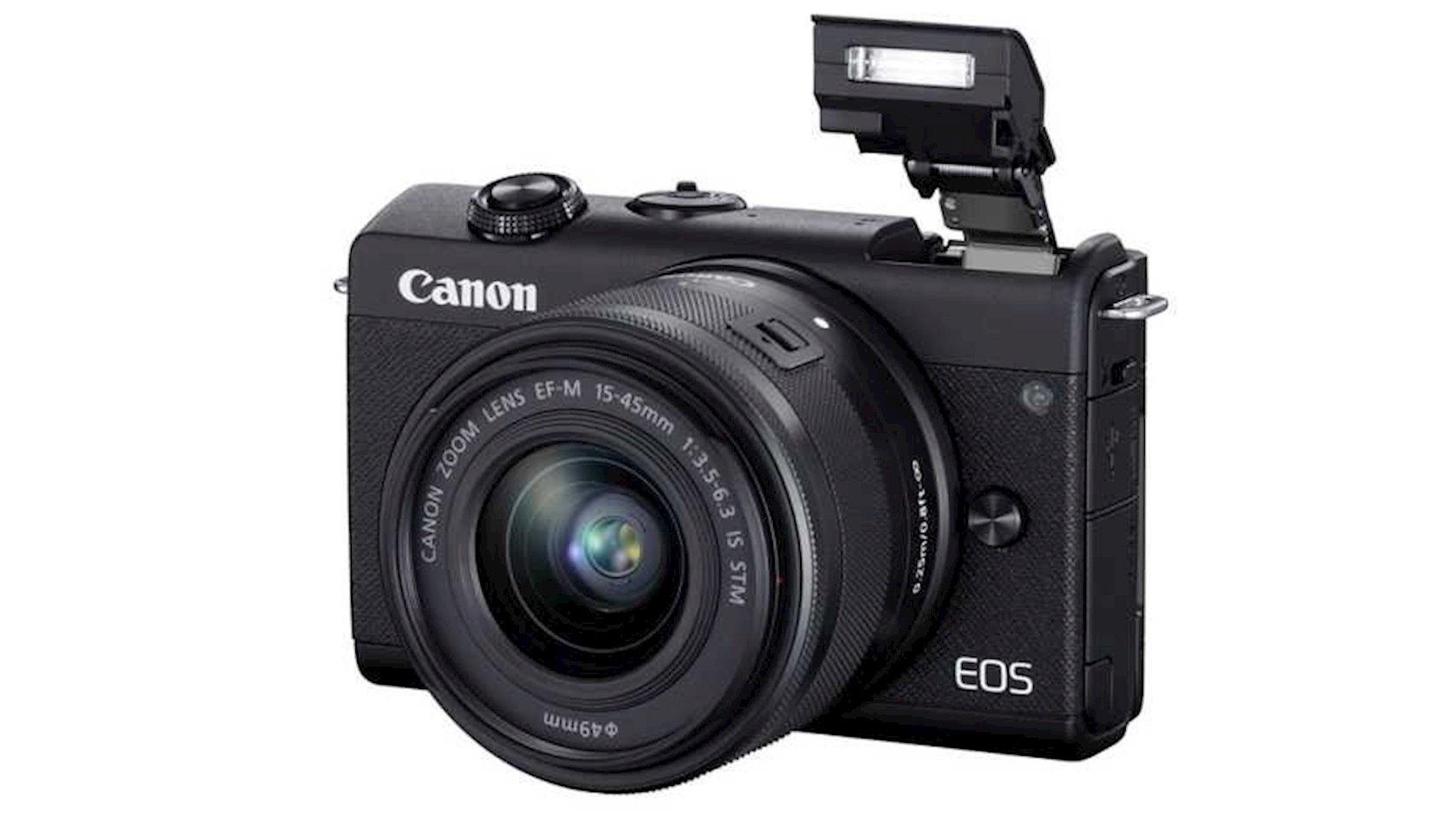 Fotoaparat Canon EOS M200 EF-M 15-45 Kit