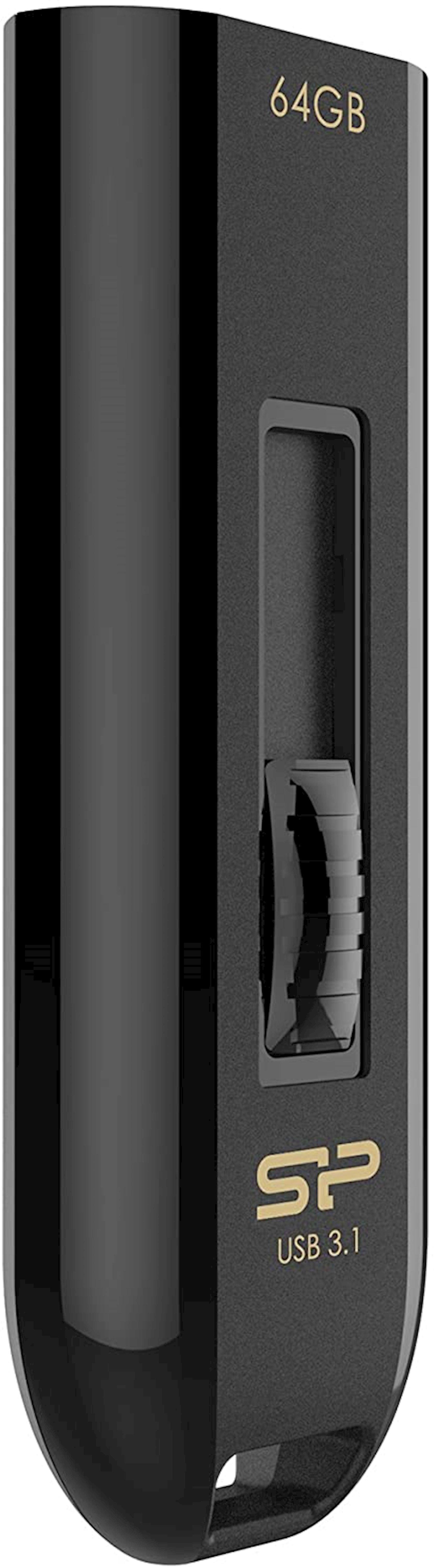 Fleş kart USB Silicon-Power Blaze B21 64 Gb