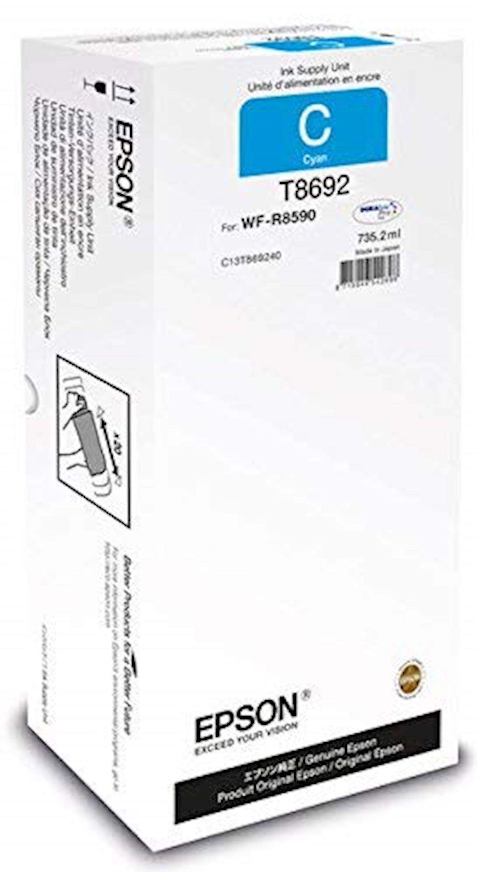 Mürəkkəb konteyneri Epson WF-R8590 Cyan XXL Ink Supply Unit