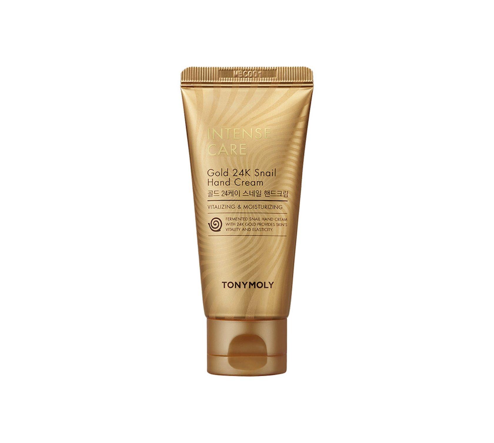 Əl kremi Tony Moly Intense Care Gold 24K Snail Hand Cream 60 ml