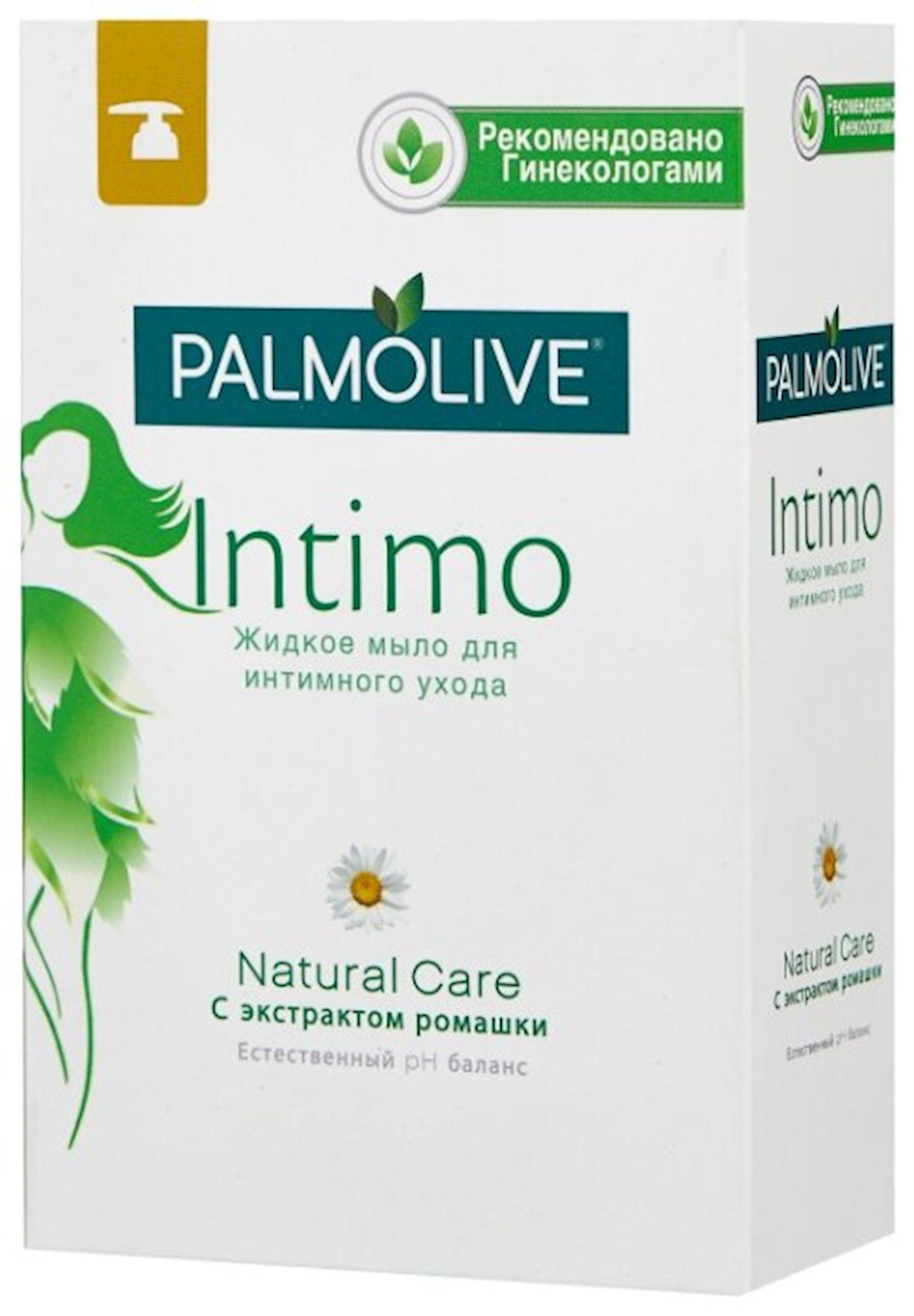 İntim gigiyena üçün maye sabun Palmolive Intimo Natural Care çobanyastığı ekstraktı ilə 300 ml