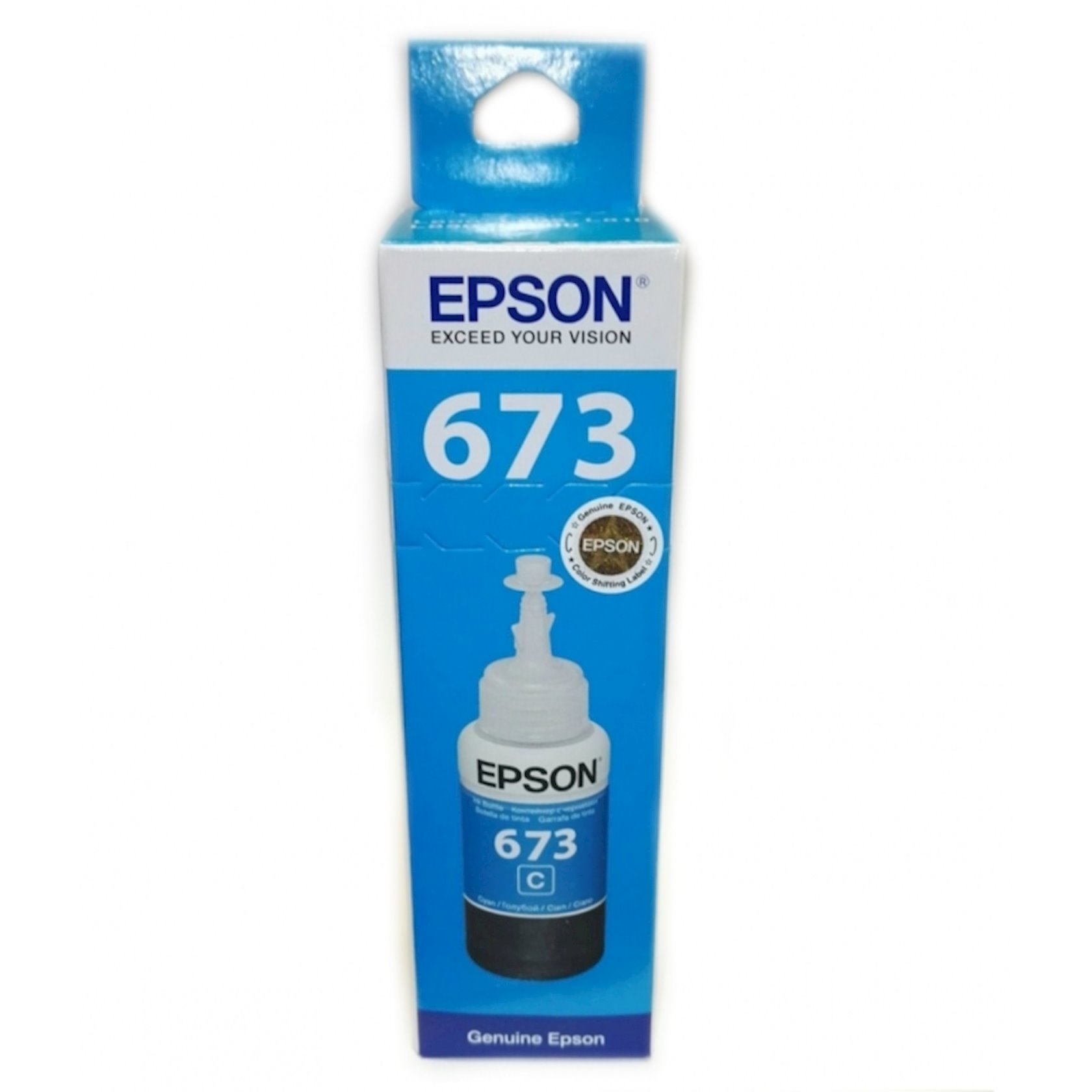 Mürəkkəb konteyneri Epson L800 Cyan ink bottle 70ml