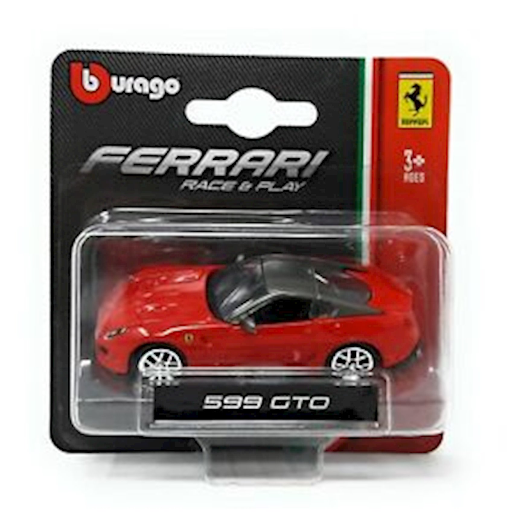 Oyuncaq maşın Bburago 1-64 Ferrari&PVehicles(Asst),qırmızı,3+ yaş,metal