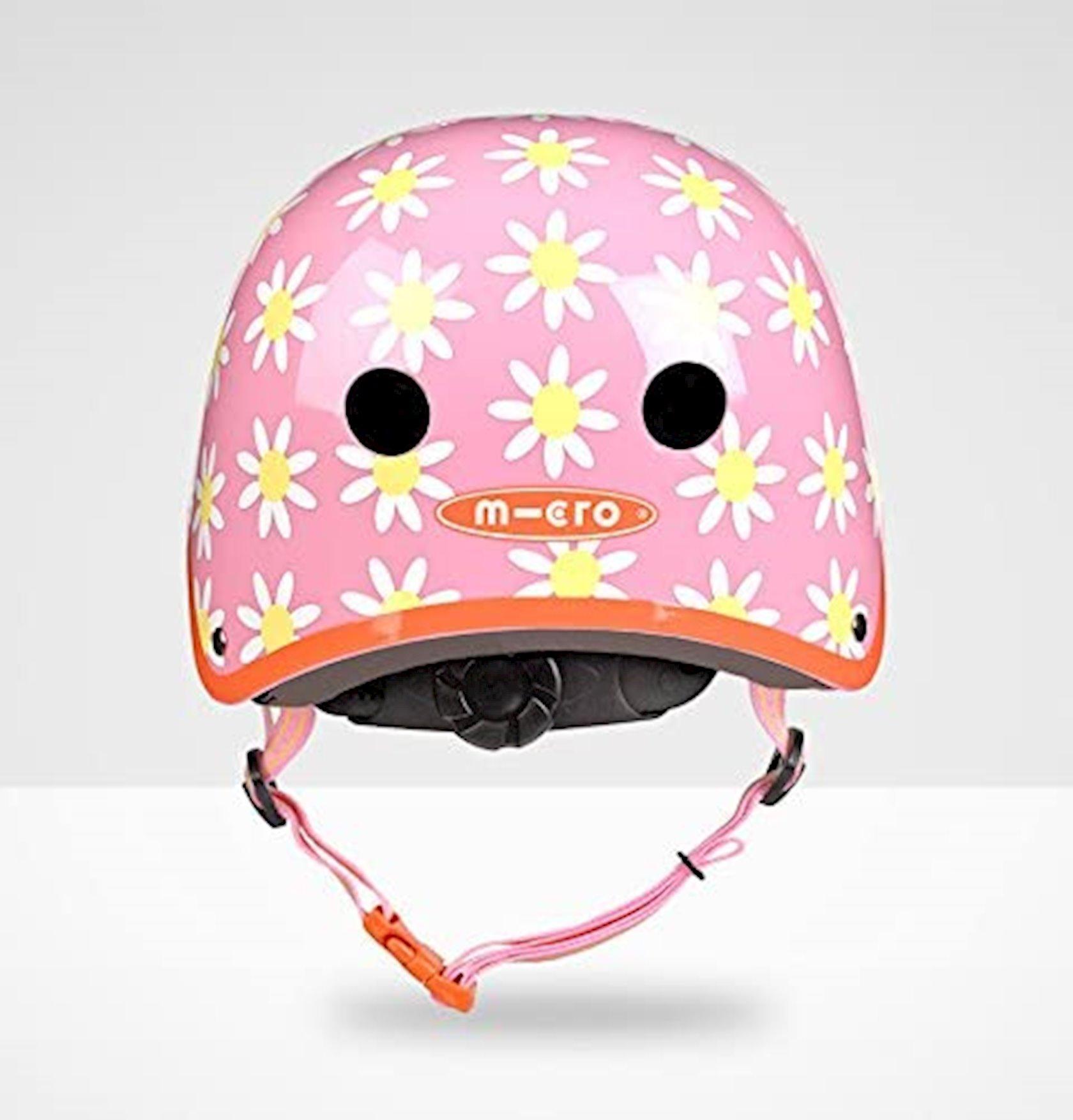 Qoruyucu dəbilqə Micro Helmet Daisy, çəhrayı, 3+ yaş, S ölçü 48-53 sm