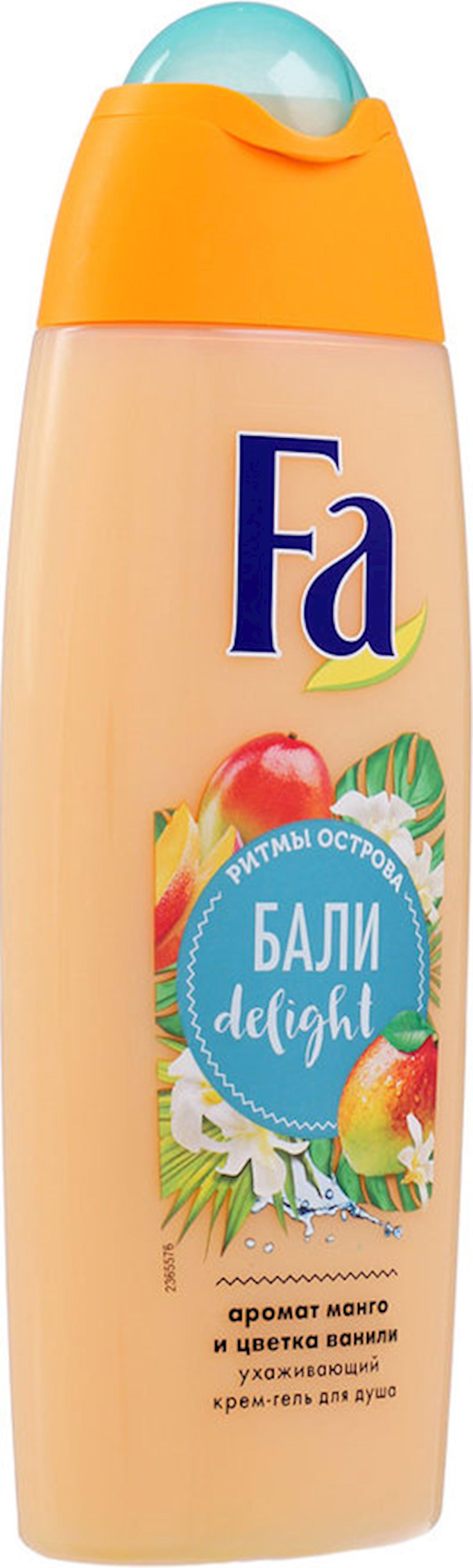 Duş üçün gel-krem FA Bali adasının ritmləri Delight, 250 ml