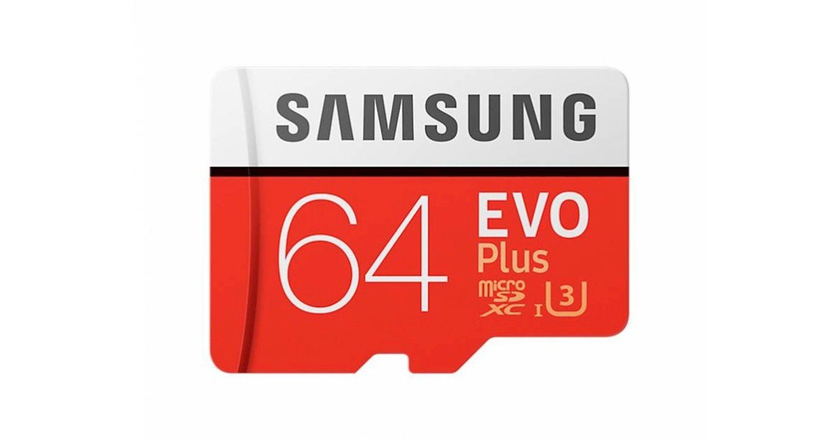 Yaddaş Kartı Samsung EVO Plus microSD Card 2020, 64 GB