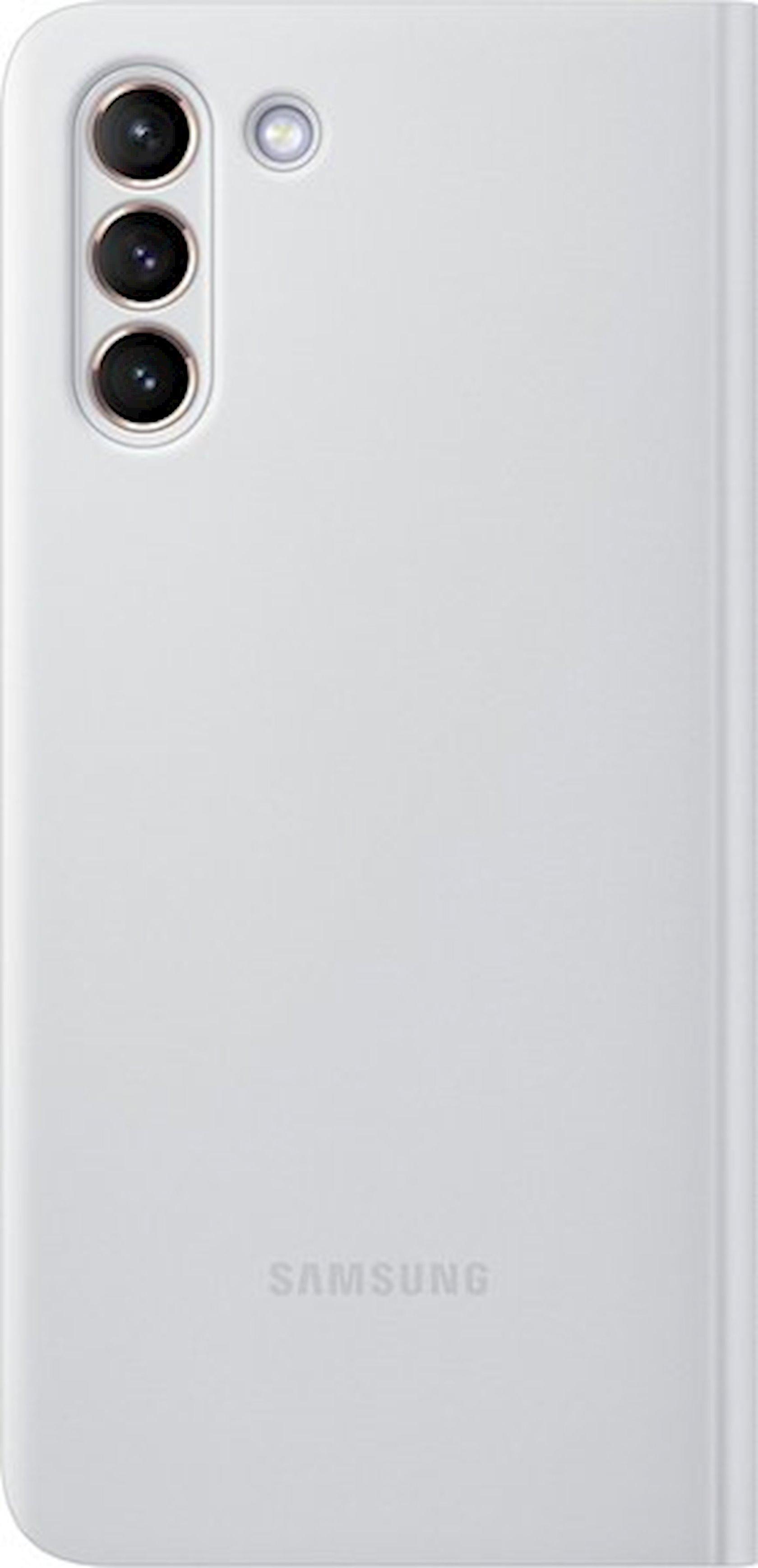 Çexol Samsung Galaxy Galaxy S21 Plus Smart Clear View Cover Silver