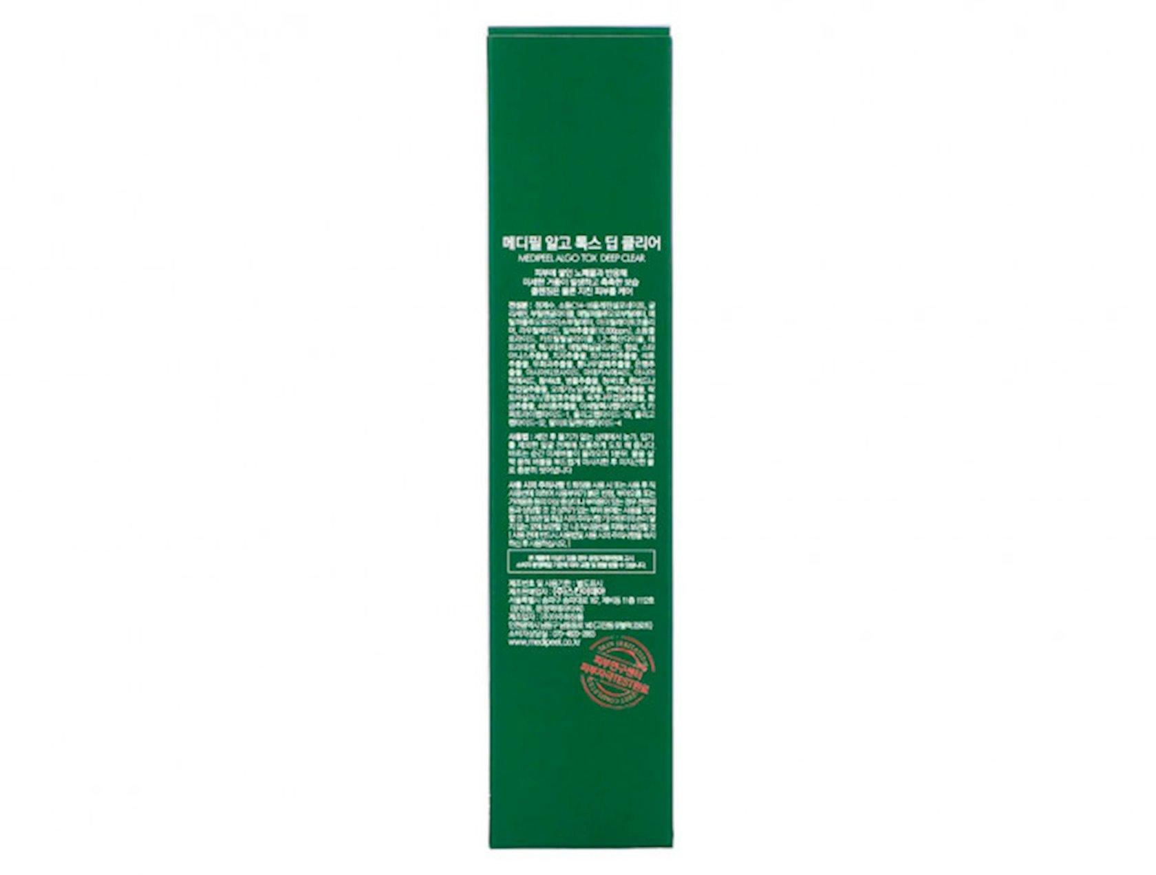 Üz yumaq üçün gel Medi-Peel Algo-Tox Deep Clear 150 ml