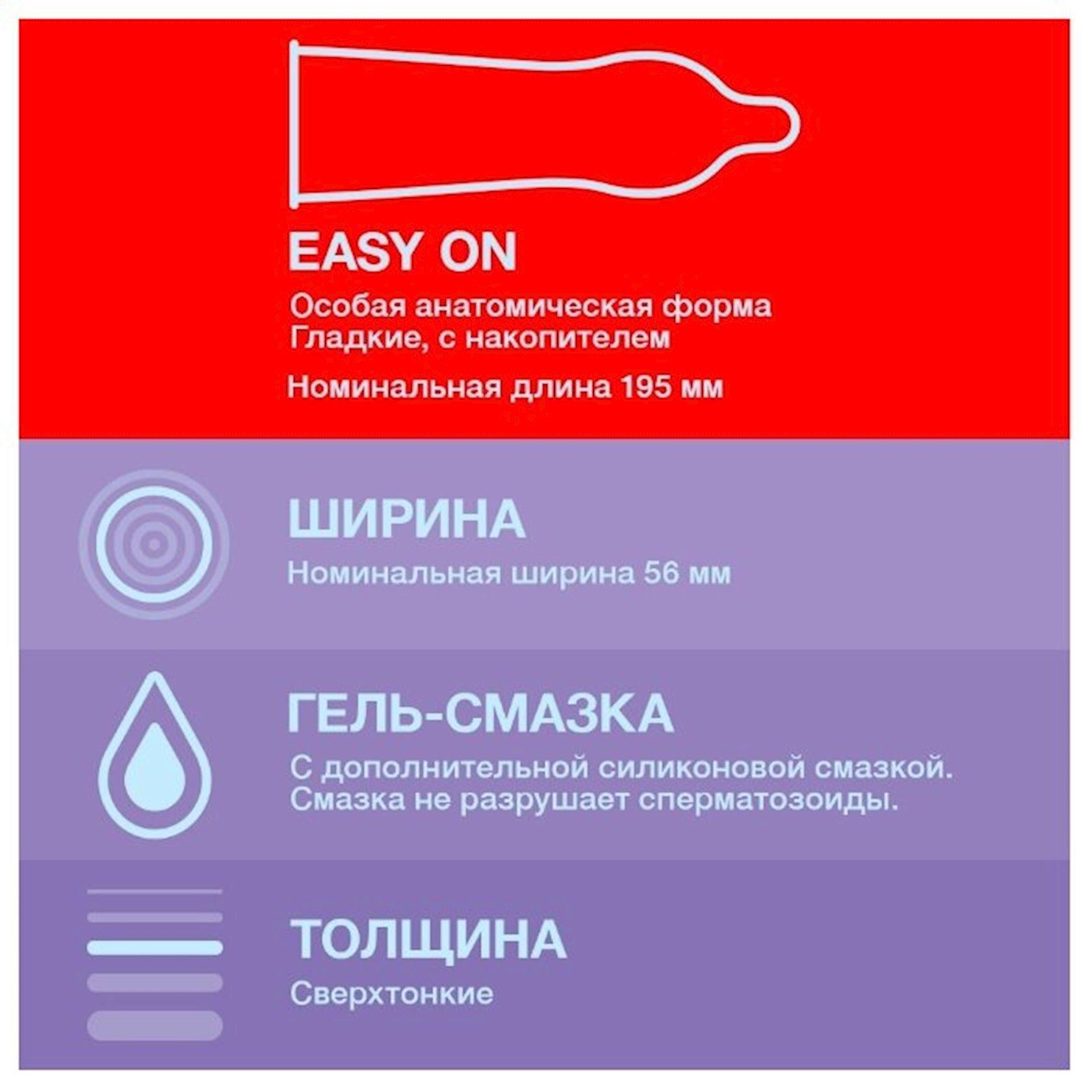 Prezervativlər Durex Elite 12 ədəd
