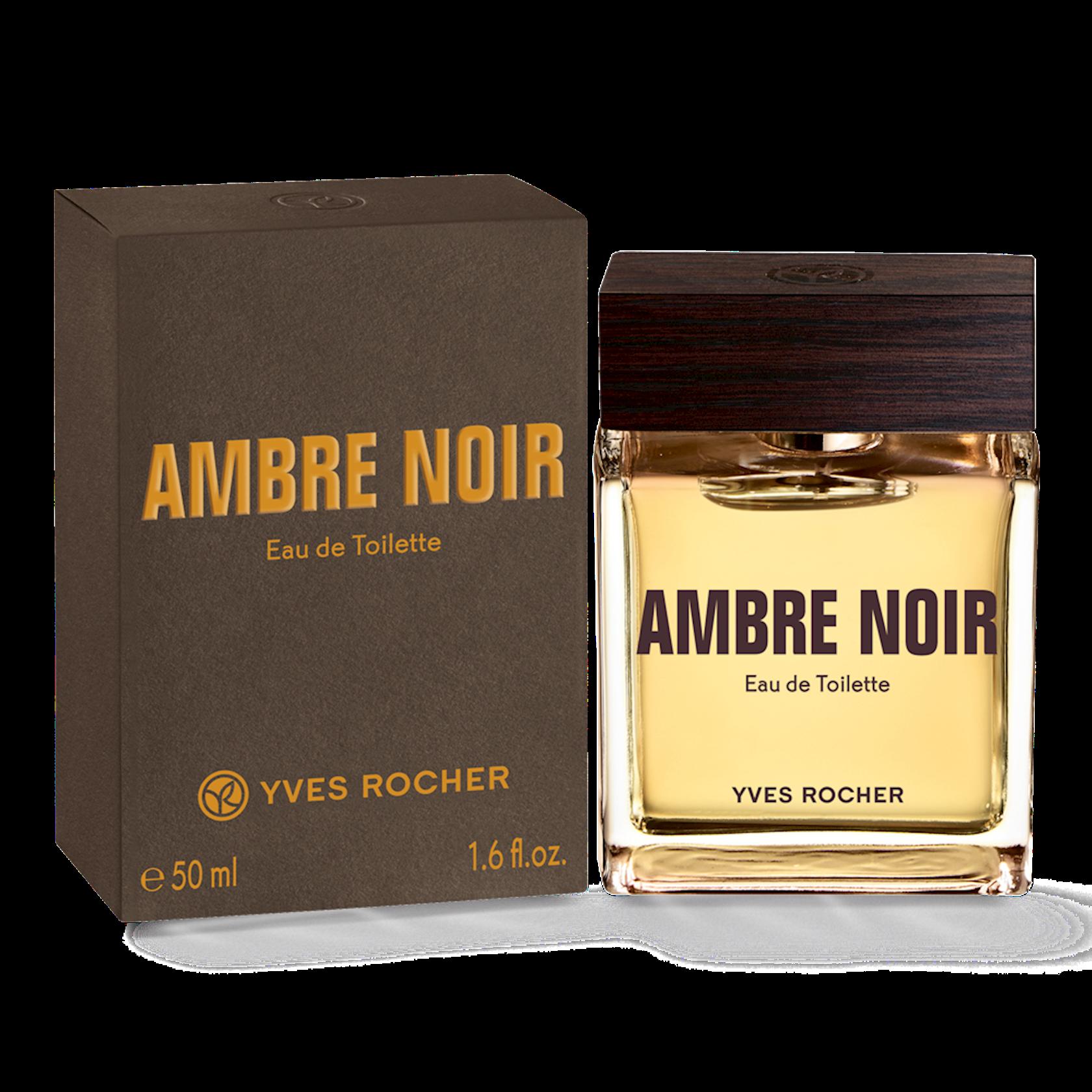 Kişilər üçün tualet suyu Yves Rocher Ambre Noir 50ml
