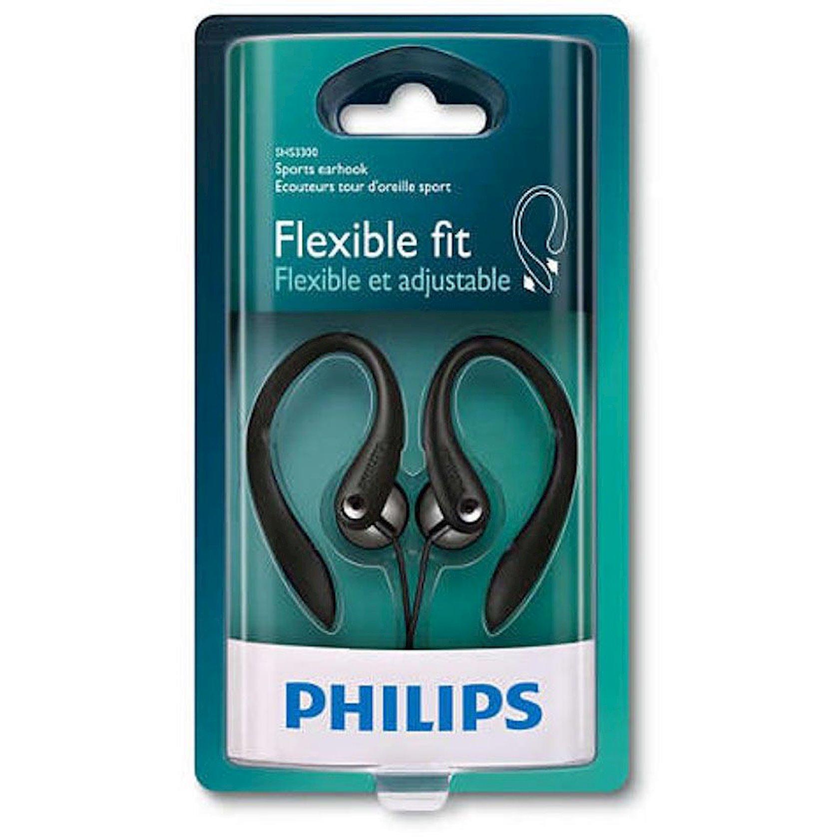 Simli qulaqlıqlar Philips SHS3300BK/10 Black