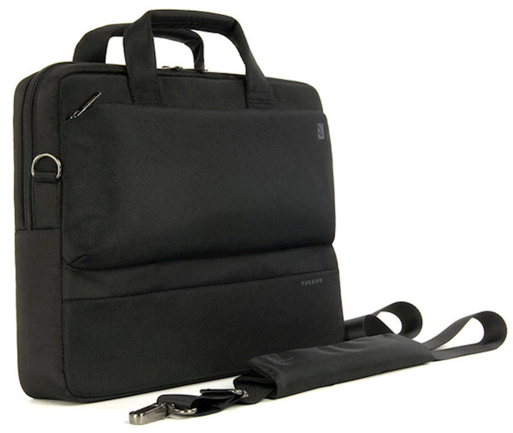 Noutbuk üçün çanta Tucano Dritta Slim Bag 13/14 Black