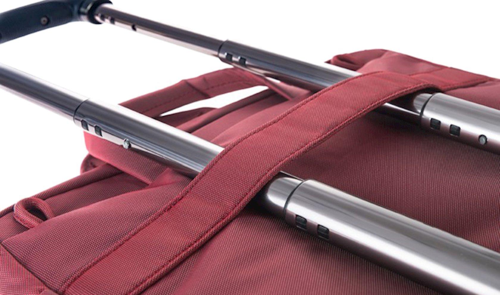 Noutbuk üçün çanta Tucano Work Out 3 Slim 13 Red