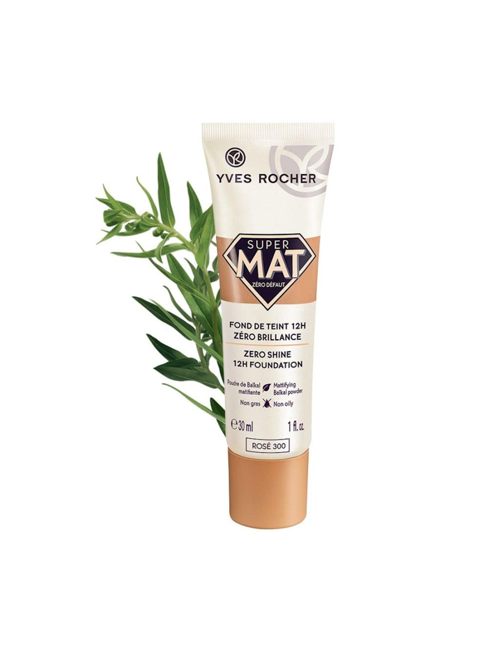 Tonal krem Yves Rocher Zero Shine 12s çəhrayı 300, 30 ml