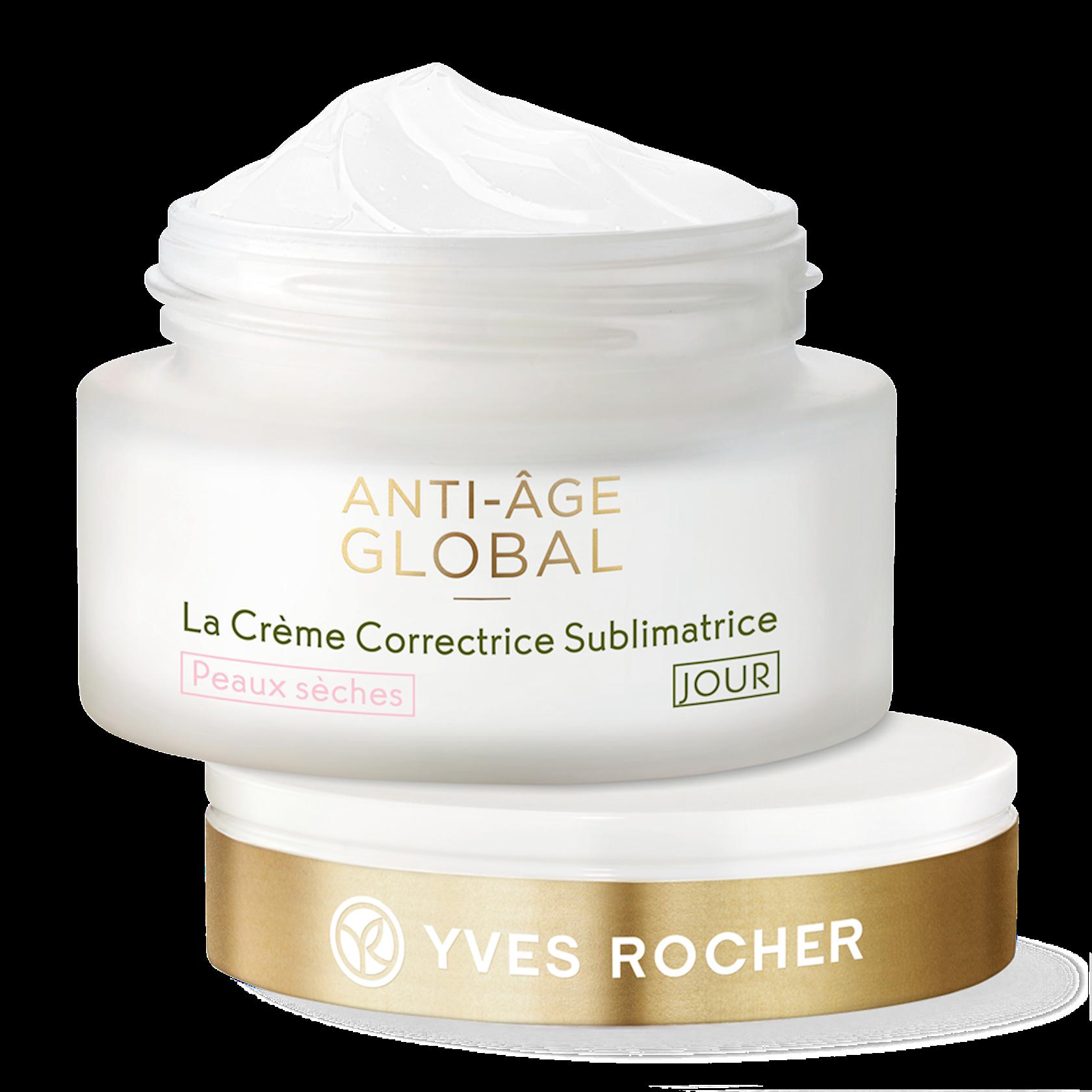 Gündüz üz kremi Yves Rocher The AntiAging Beautifying Cream Day Dry Skin 50 ml