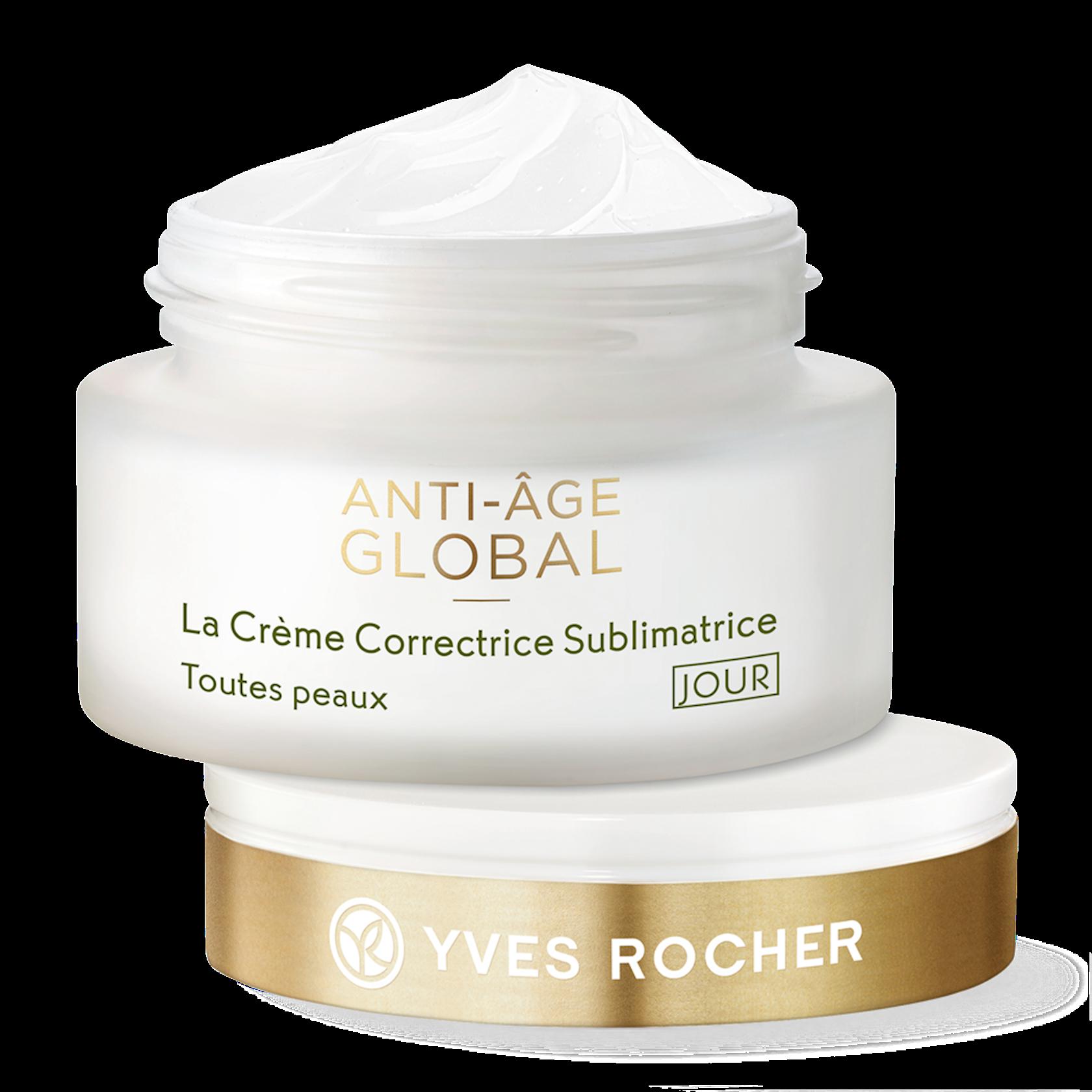 Gündüz üz kremi Yves Rocher The AntiAging Beautifying Cream Day All Skin Types 50 ml